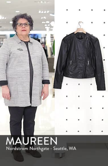 Collarless Leather Jacket, sales video thumbnail