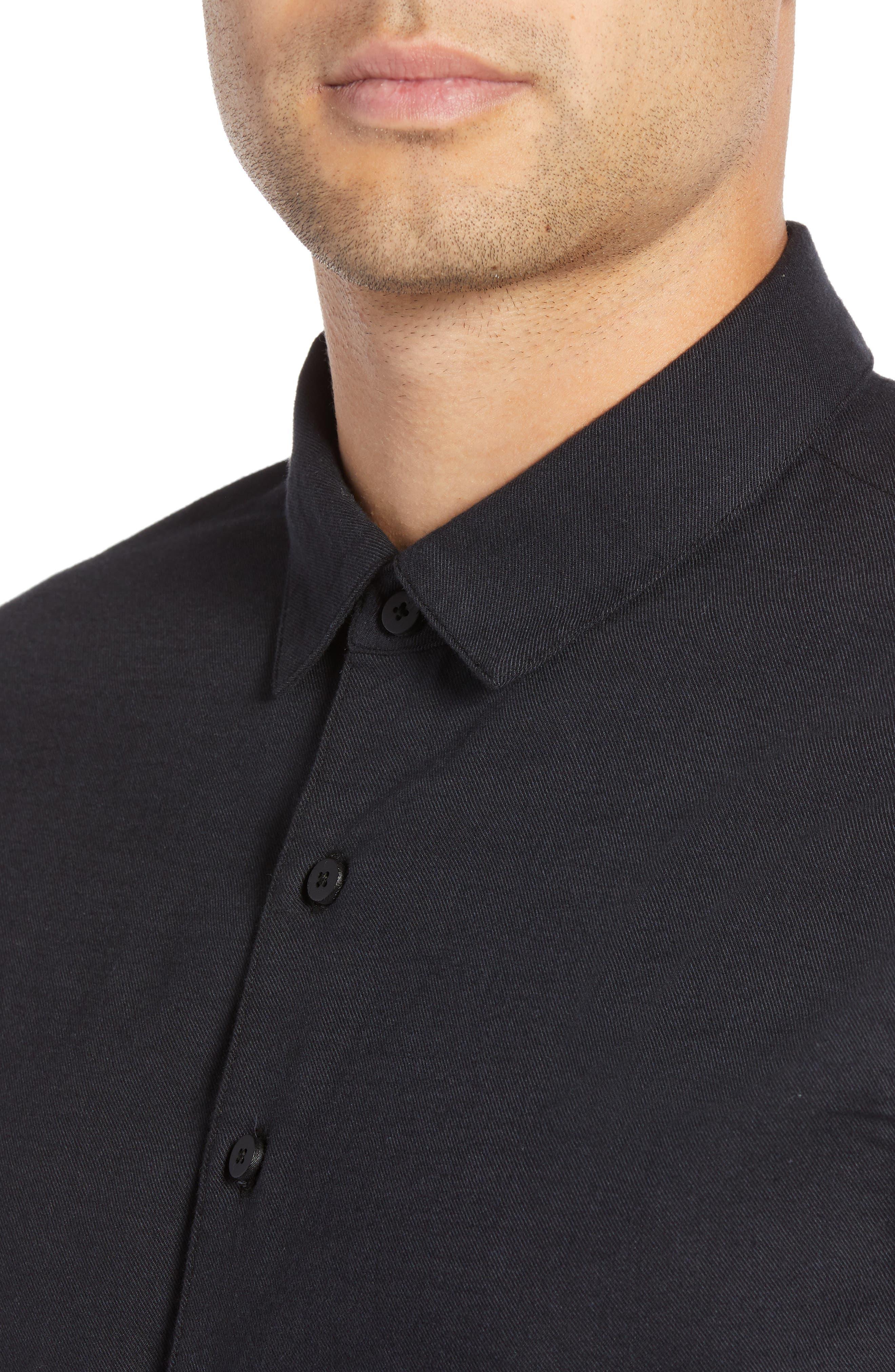 Officer Sport Shirt,                             Alternate thumbnail 2, color,                             MIDNIGHT