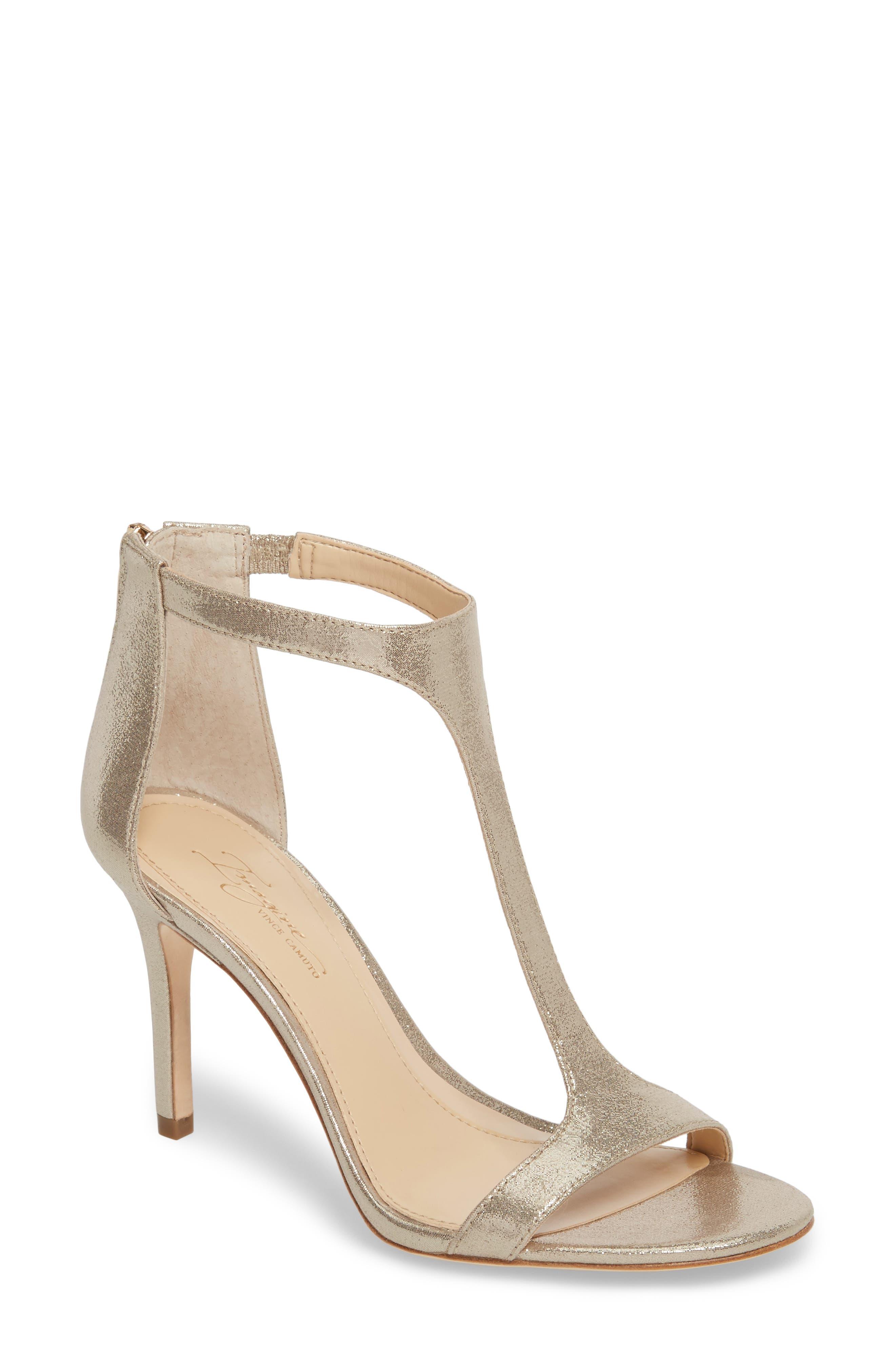 'Phoebe' Embellished T-Strap Sandal,                             Main thumbnail 4, color,