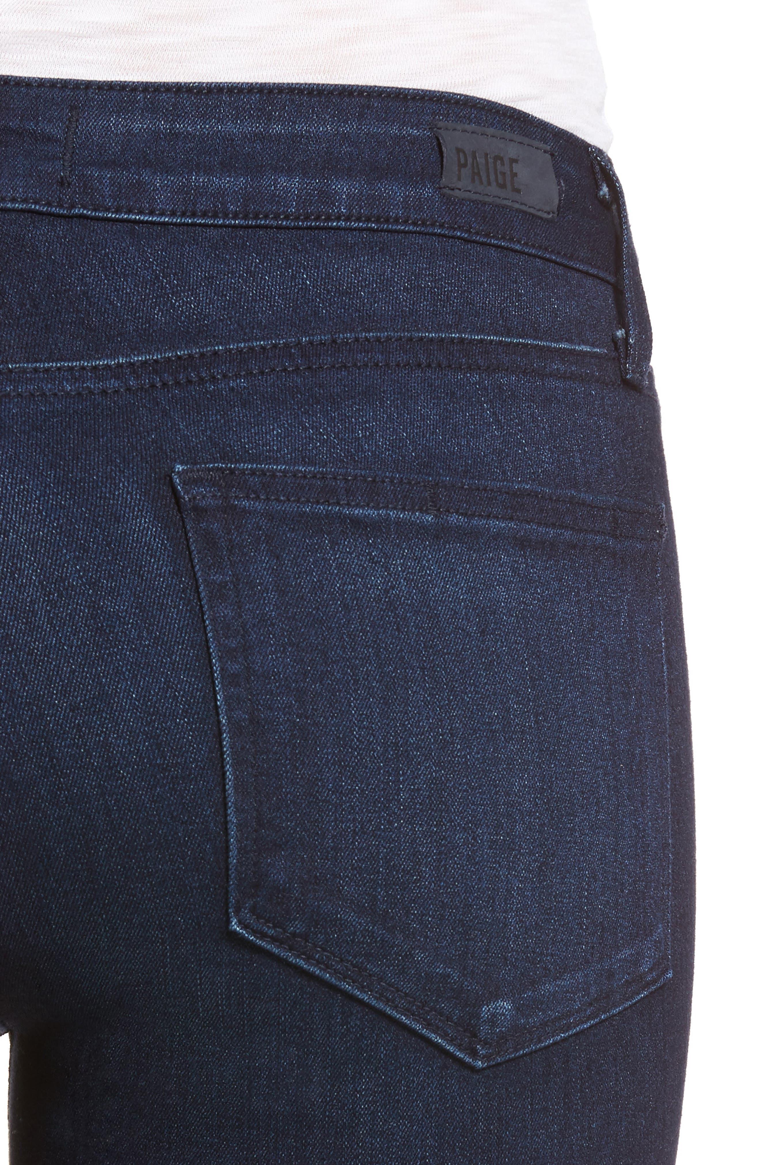 Verdugo Ankle Skinny Jeans,                             Alternate thumbnail 4, color,                             400