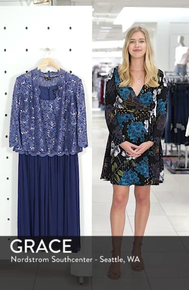 Lace Bodice Dress with Jacket, sales video thumbnail