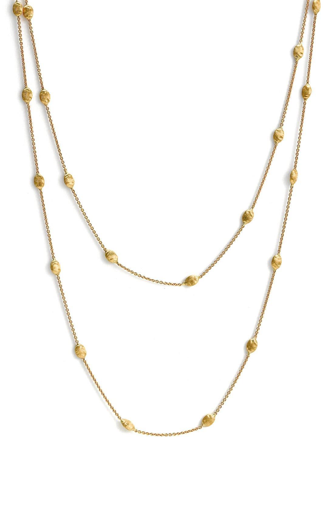 'Siviglia' Long Necklace,                             Main thumbnail 1, color,                             YELLOW GOLD