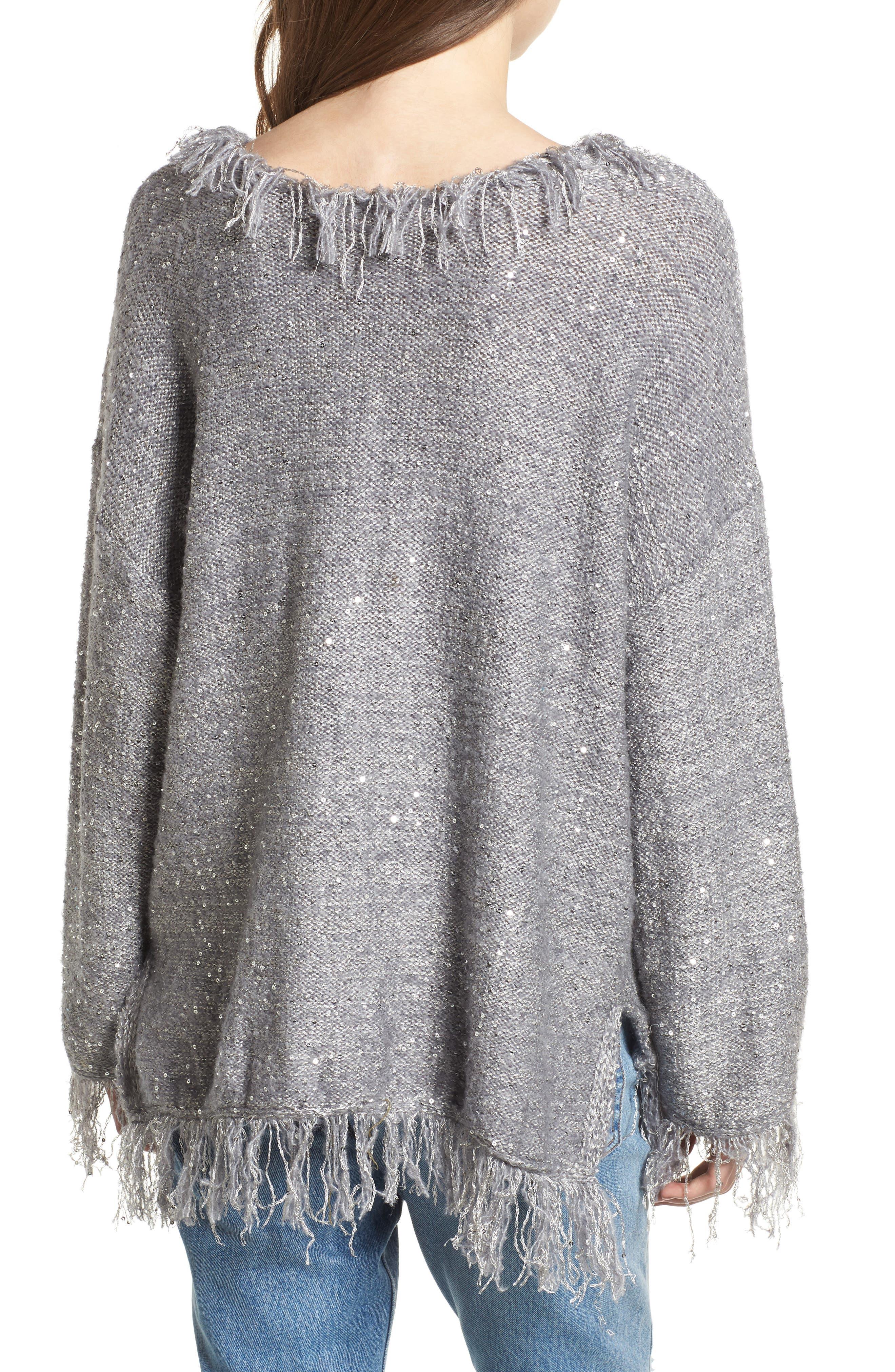 Savannah Frayed Sweater,                             Alternate thumbnail 2, color,                             020