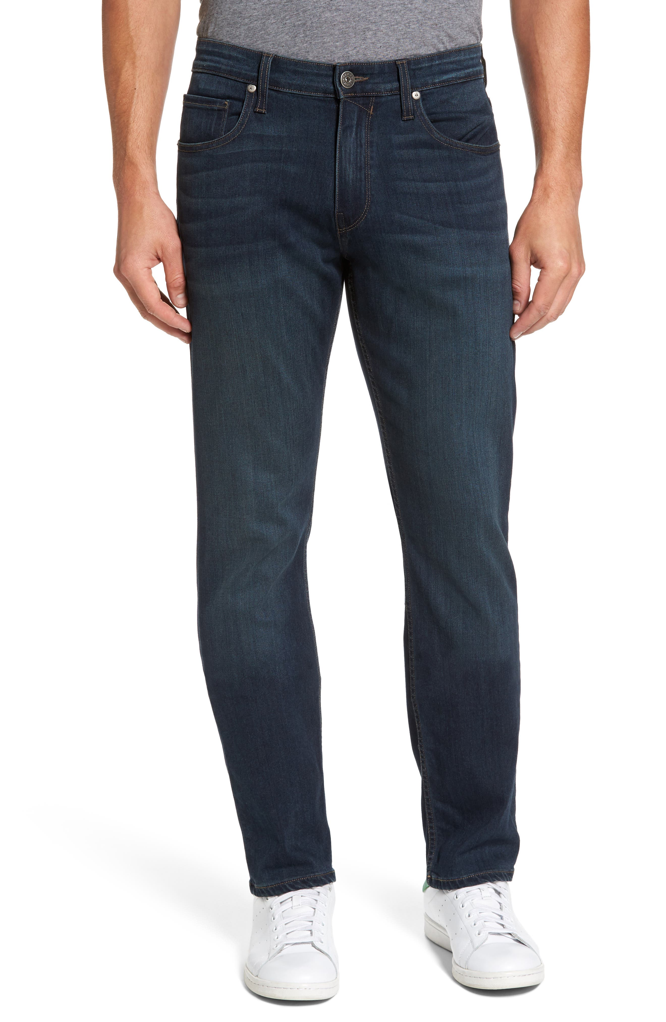 Normandie Straight Fit Jeans,                             Main thumbnail 1, color,                             400