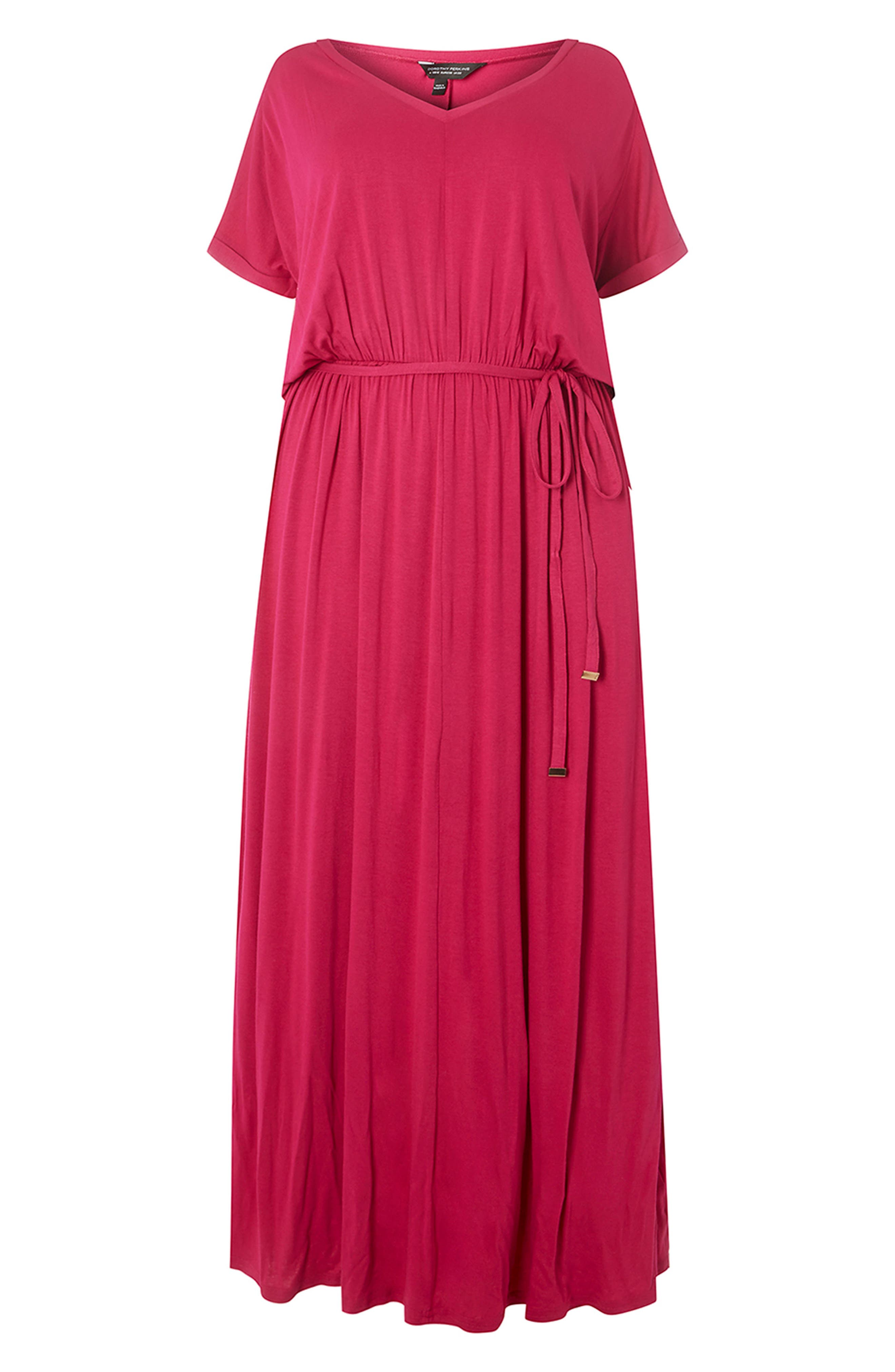 Jersey Maxi Dress,                             Alternate thumbnail 7, color,