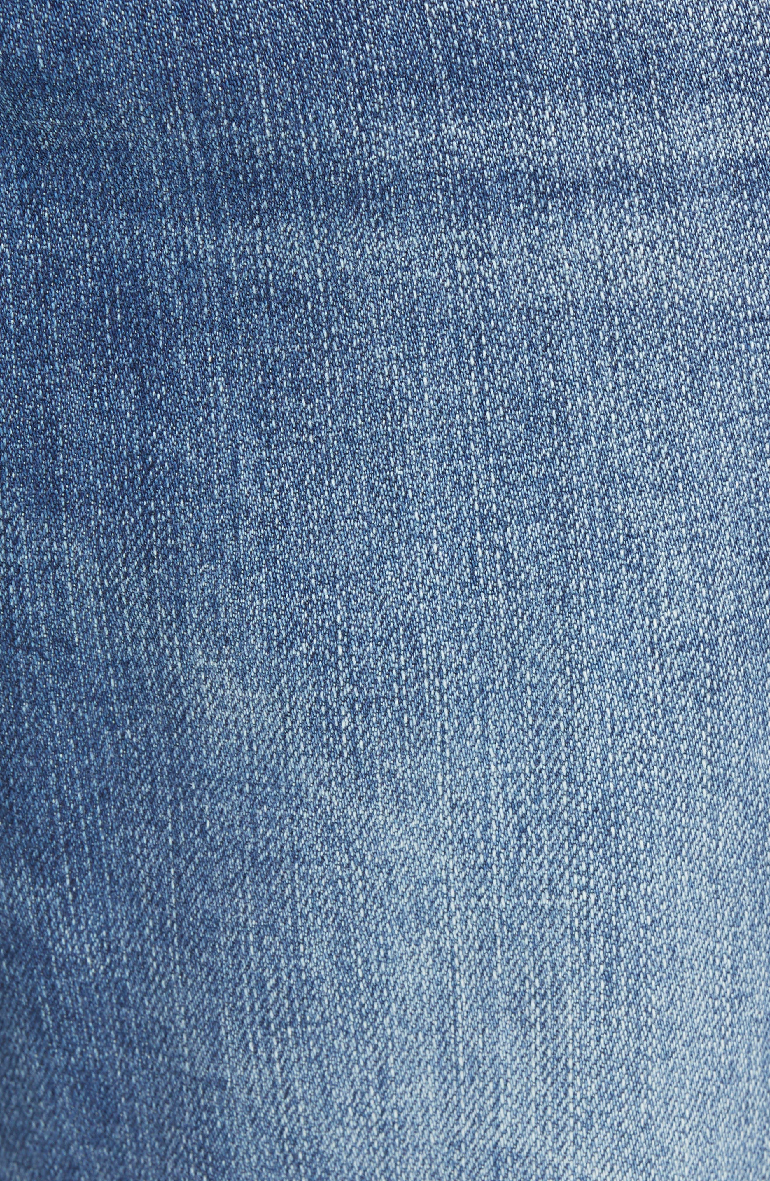 Jeans Co. Slim Straight Leg Jeans,                             Alternate thumbnail 5, color,                             BRYSON VINTAGE MED