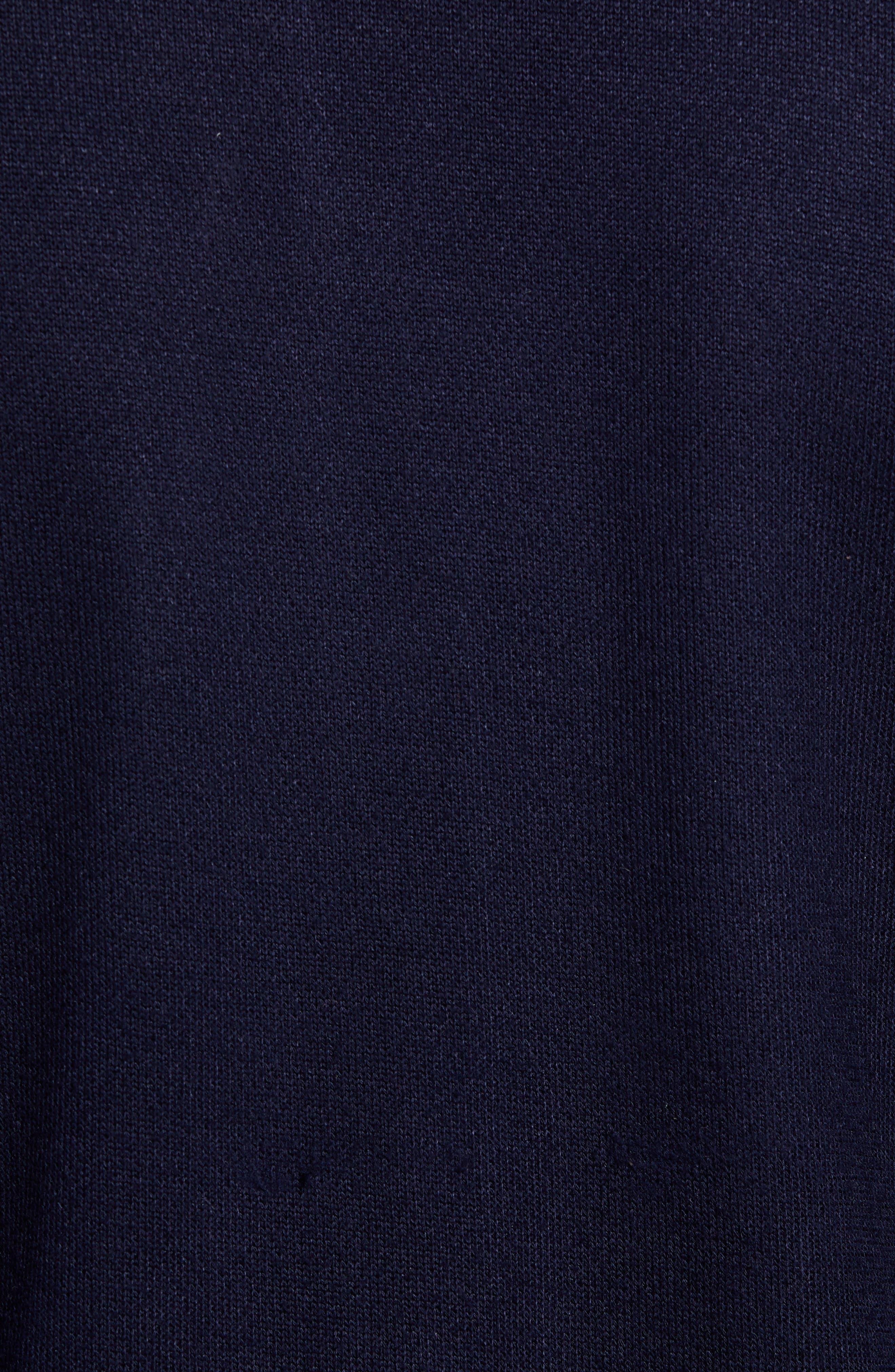 TED BAKER LONDON,                             Cadbir Trim Fit Jersey Bomber Jacket,                             Alternate thumbnail 5, color,                             410