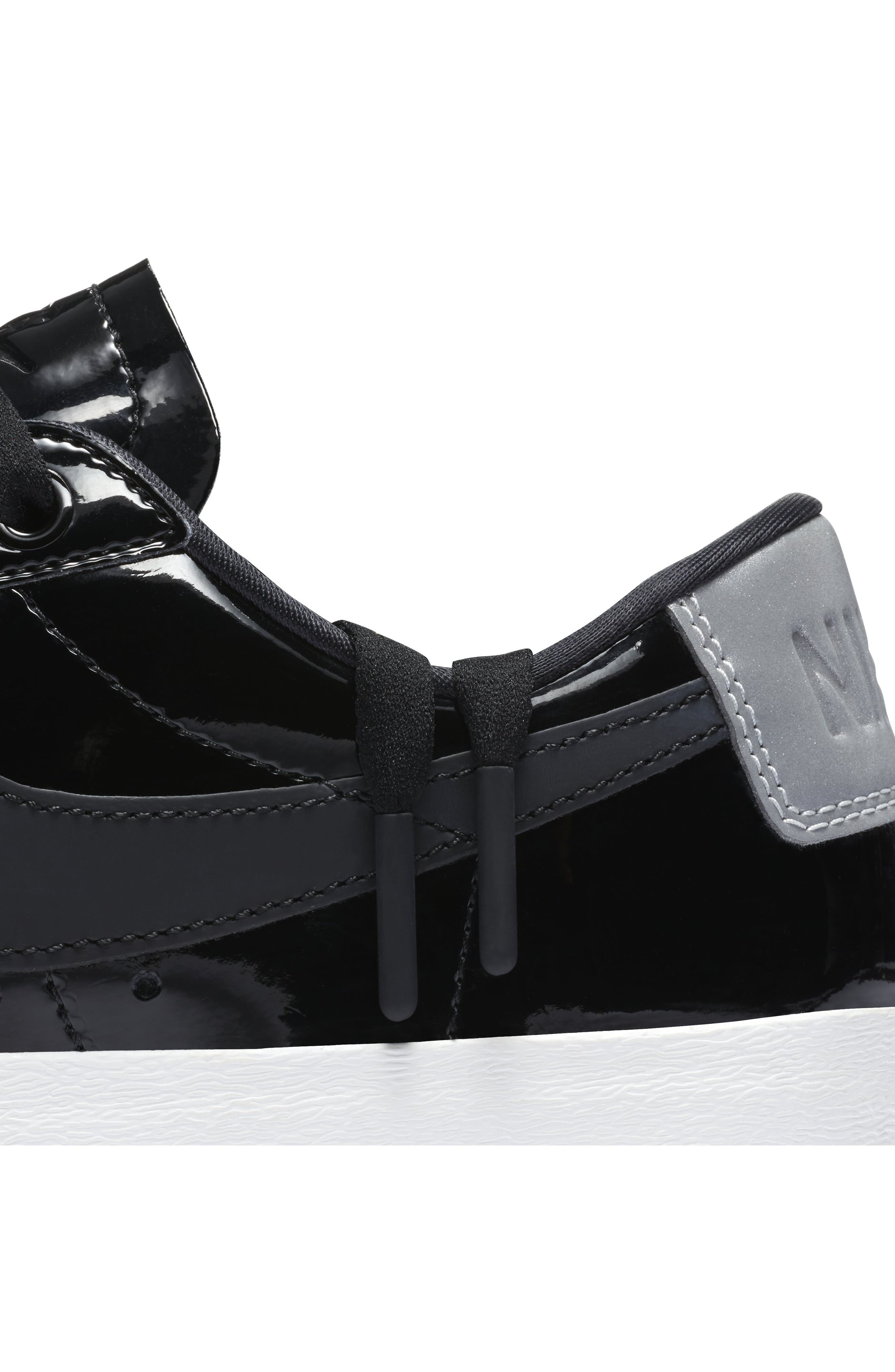 NIKE,                             Blazer Low Top Sneaker SE,                             Alternate thumbnail 7, color,                             001