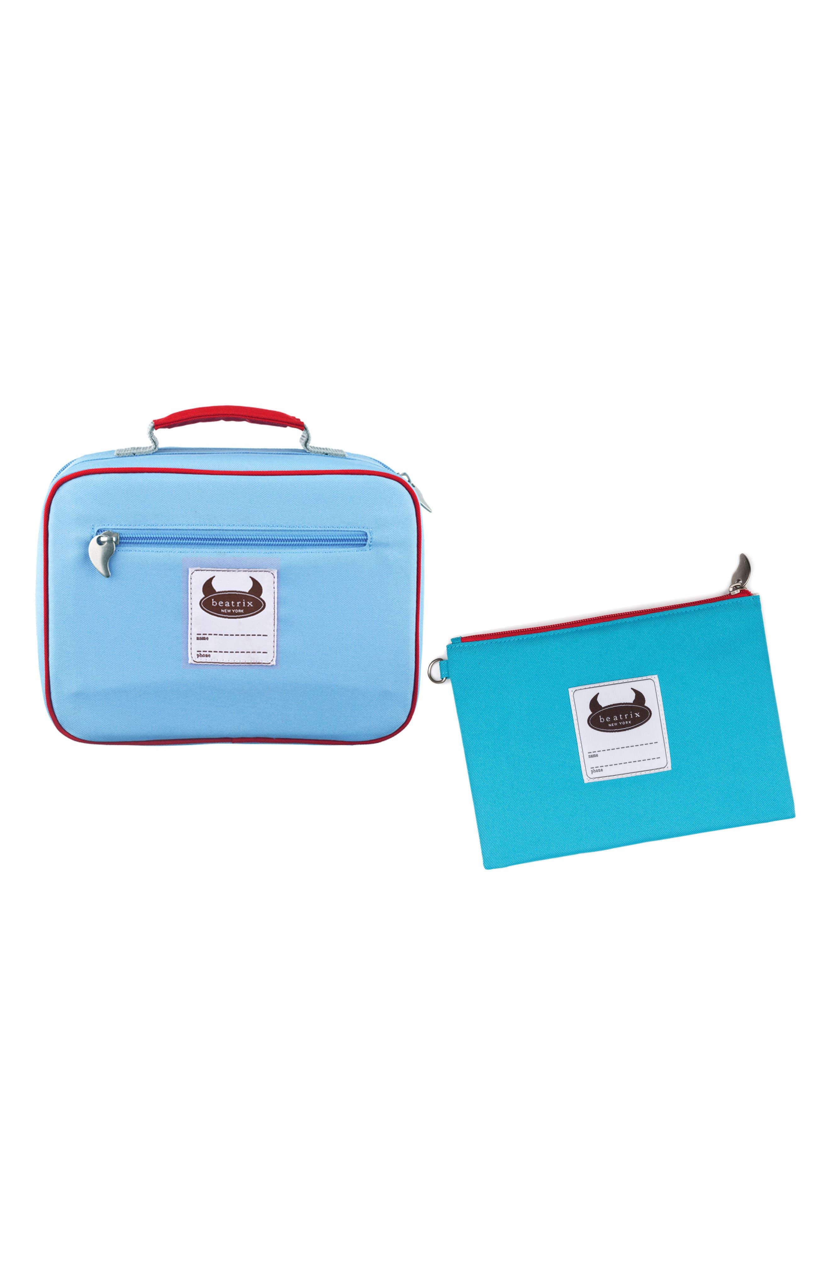 Lunch Box & Travel Pouch Set,                             Alternate thumbnail 8, color,