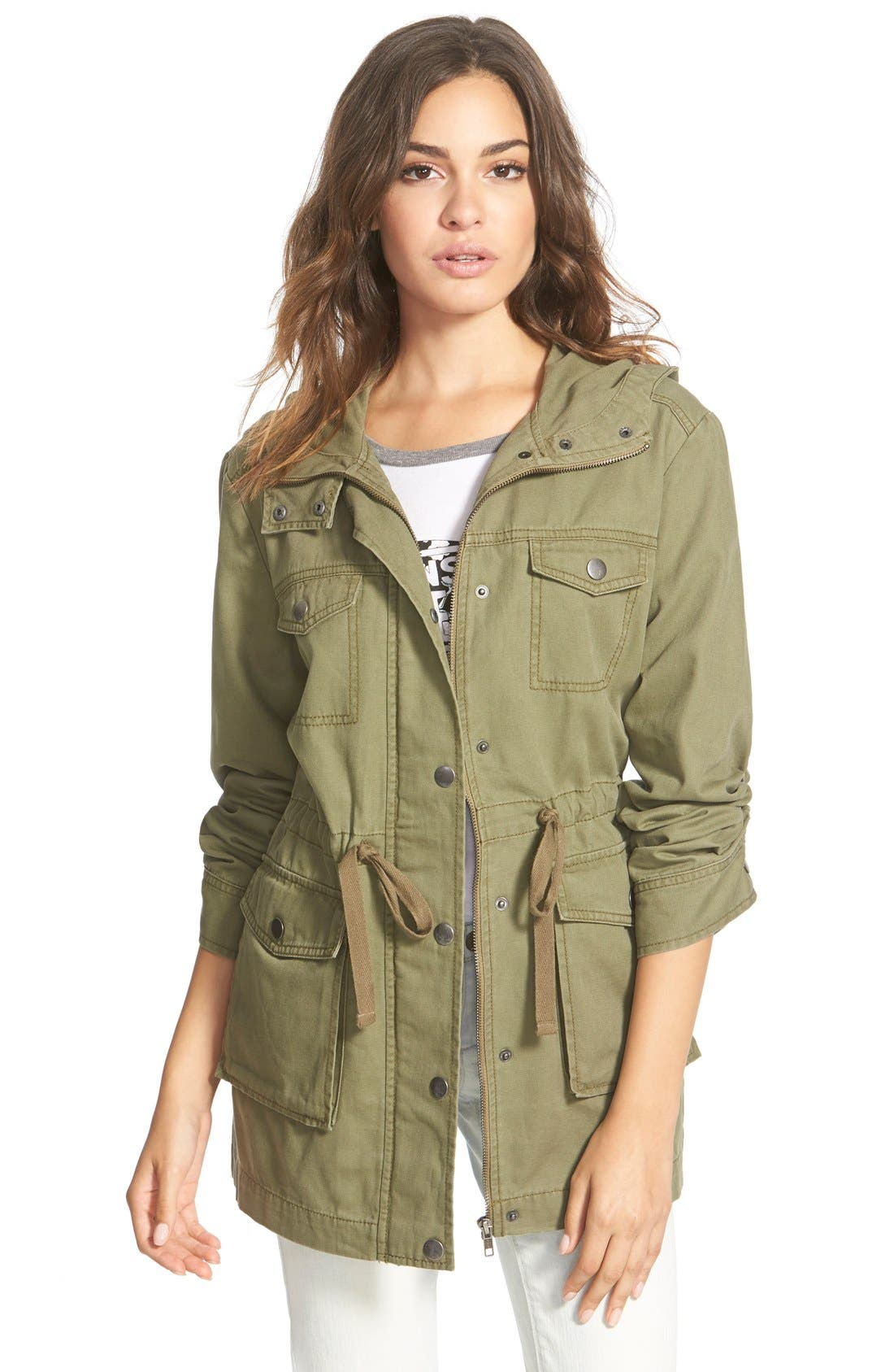 Hooded Field Jacket, Main, color, 311