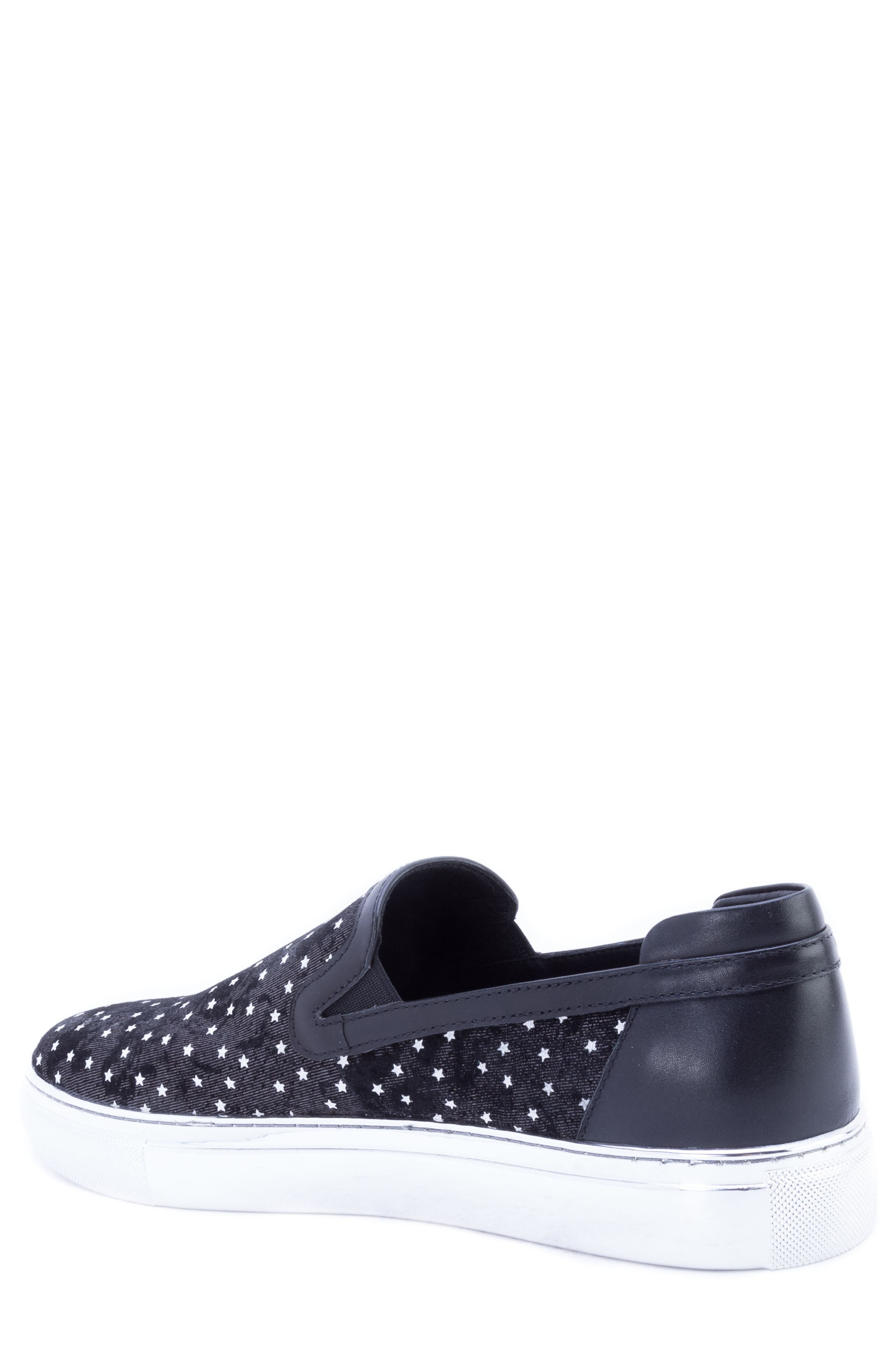 Stewart Slip-On,                             Alternate thumbnail 2, color,                             SILVER SUEDE