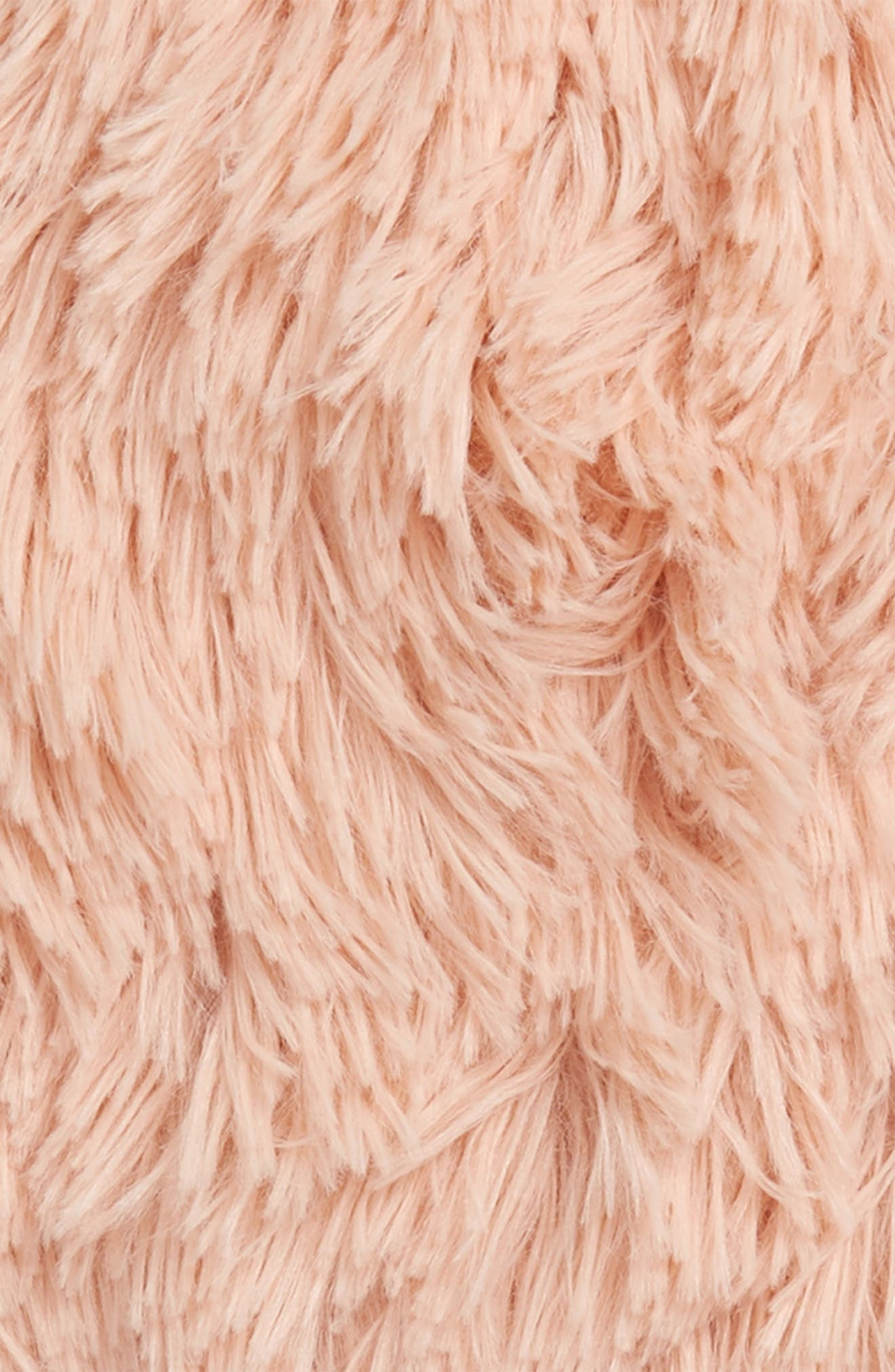 Feather Faux Fur Pillow,                             Alternate thumbnail 20, color,