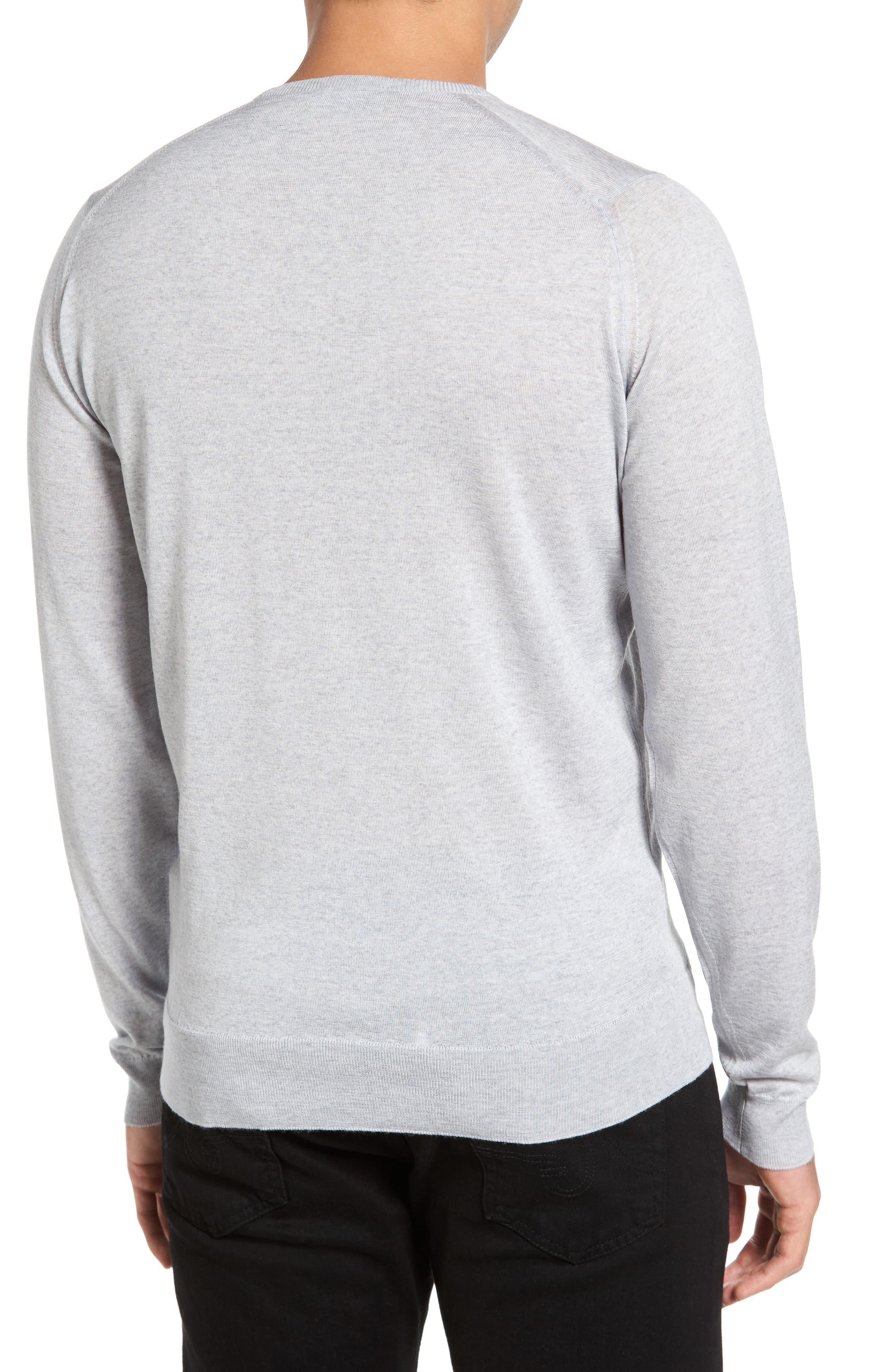 Merino Wool Sweater,                             Alternate thumbnail 6, color,
