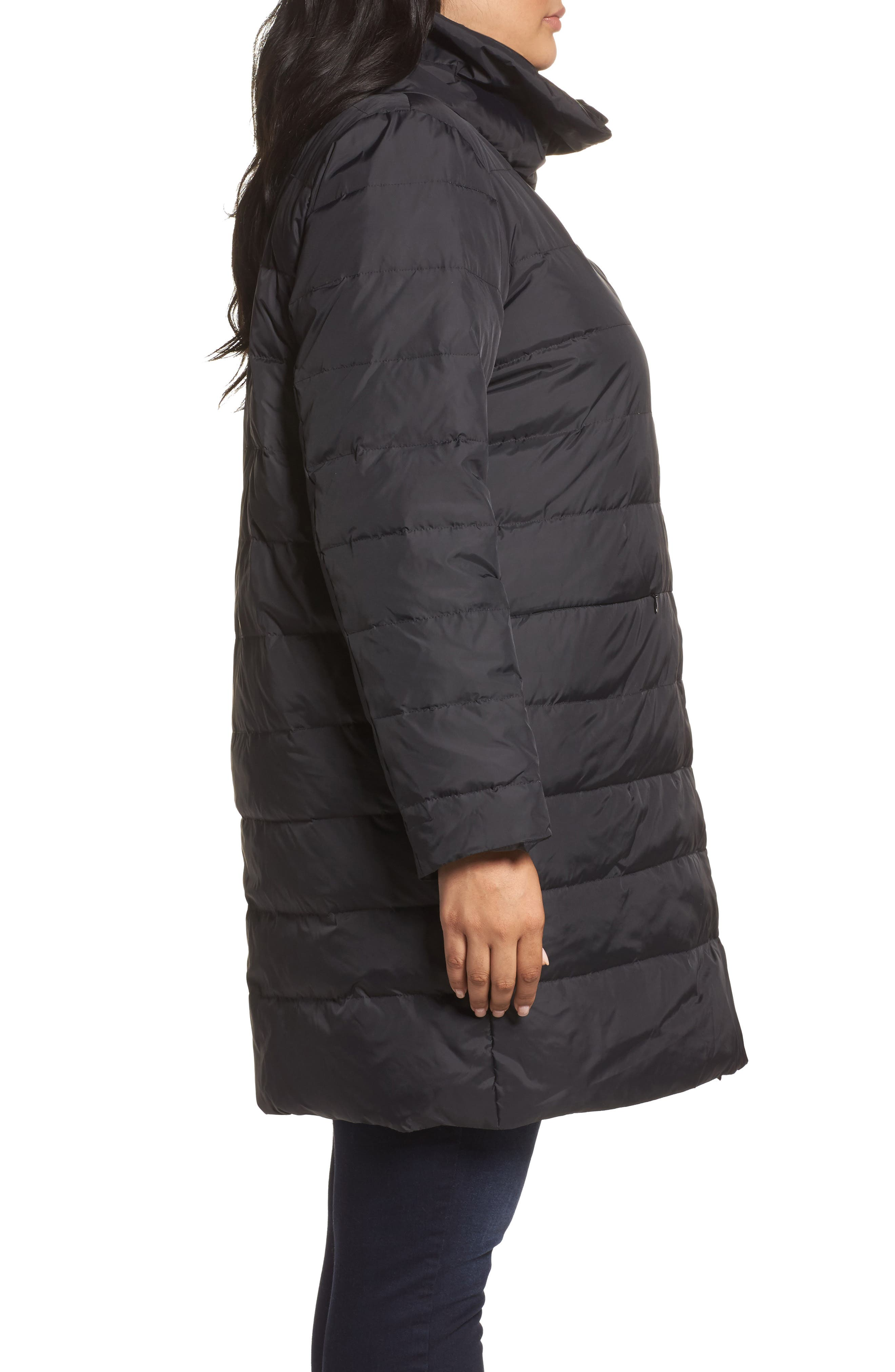 Down Puffer Coat,                             Alternate thumbnail 5, color,
