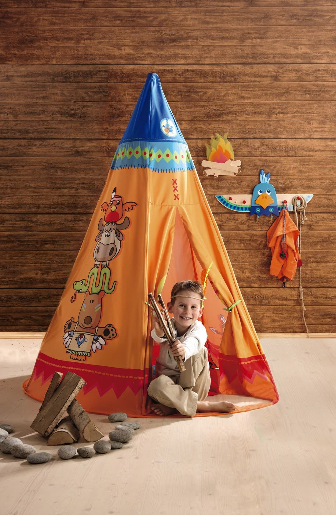 'Tepee' Play Tent,                             Alternate thumbnail 3, color,                             800