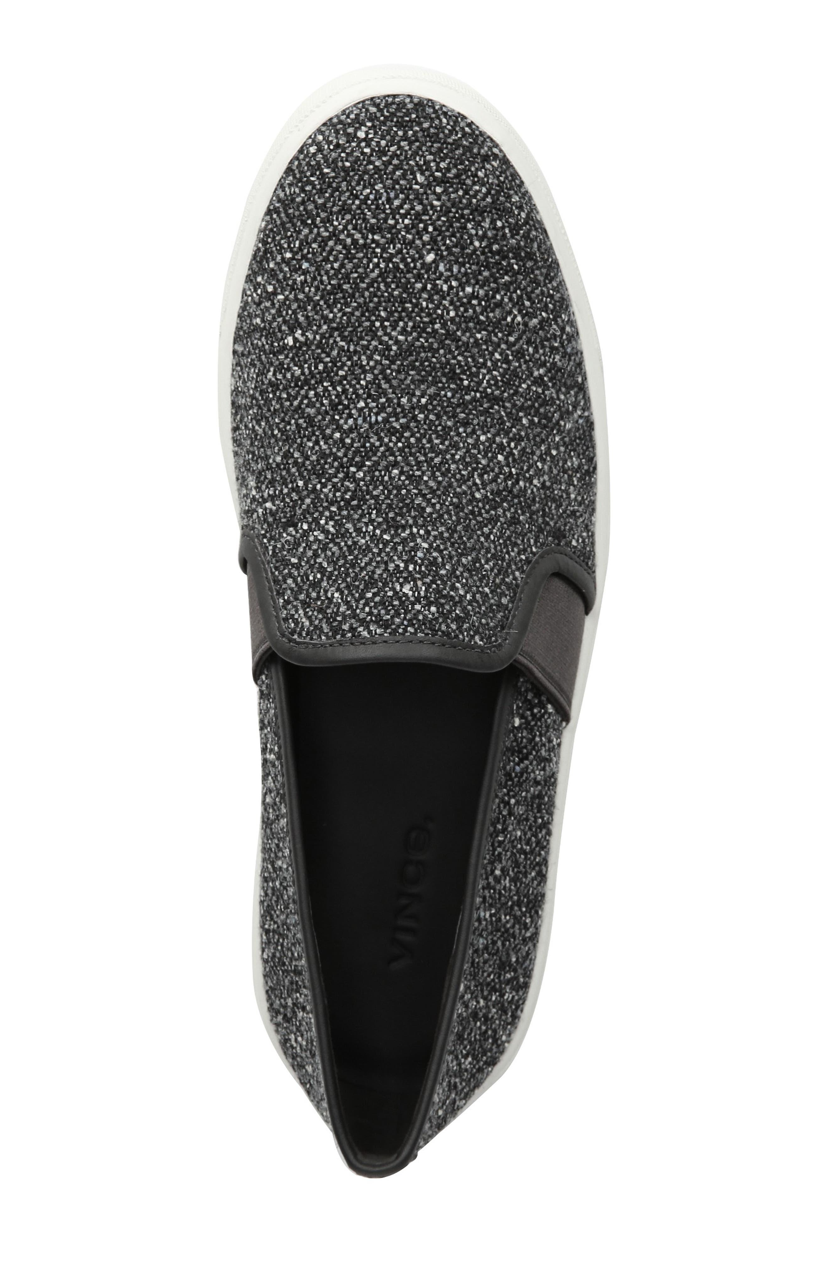 Blair 5 Slip-On Sneaker,                             Alternate thumbnail 4, color,                             GREY