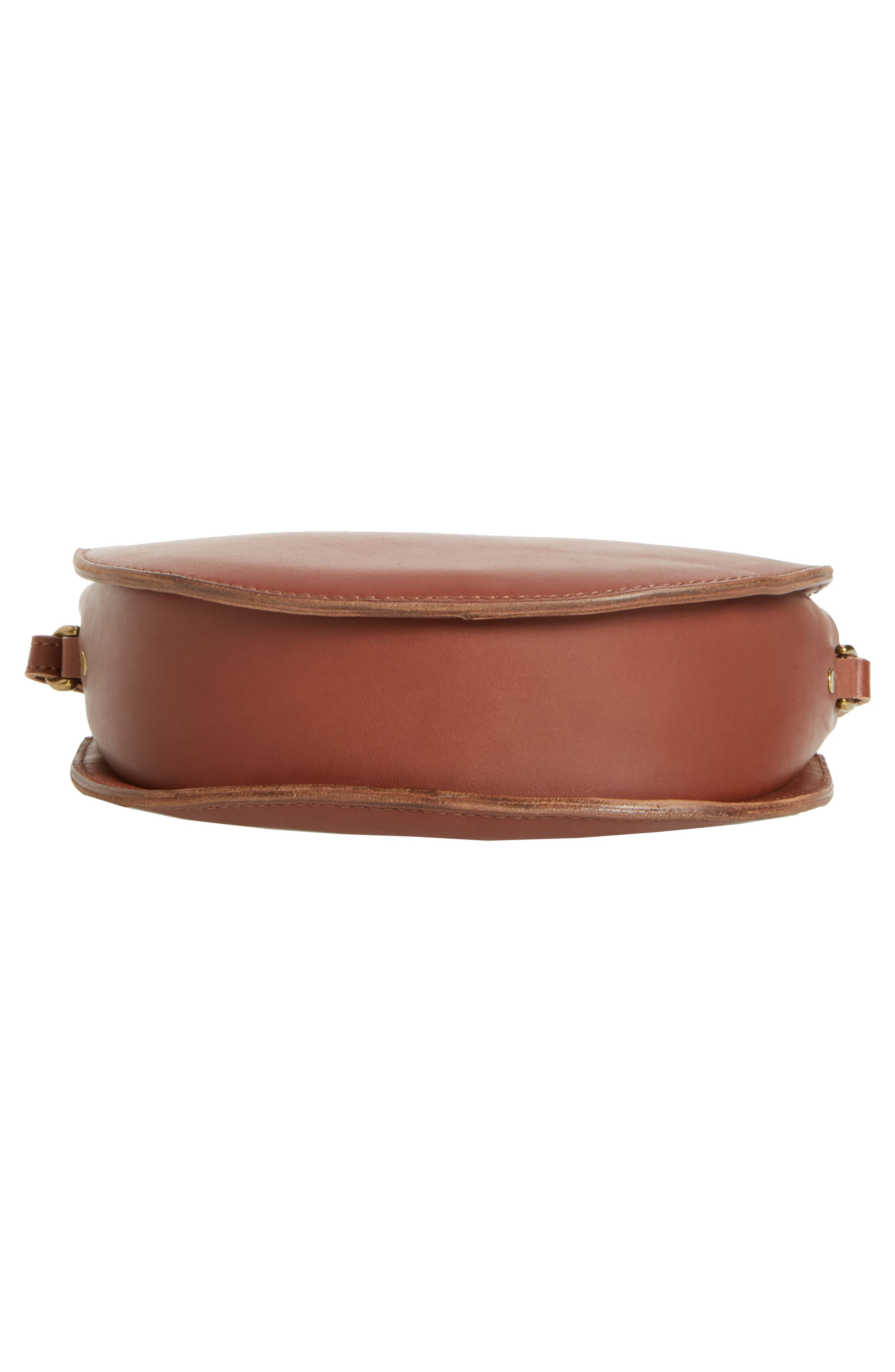 Juniper Vachetta Leather Half Moon Crossbody Bag,                             Alternate thumbnail 18, color,