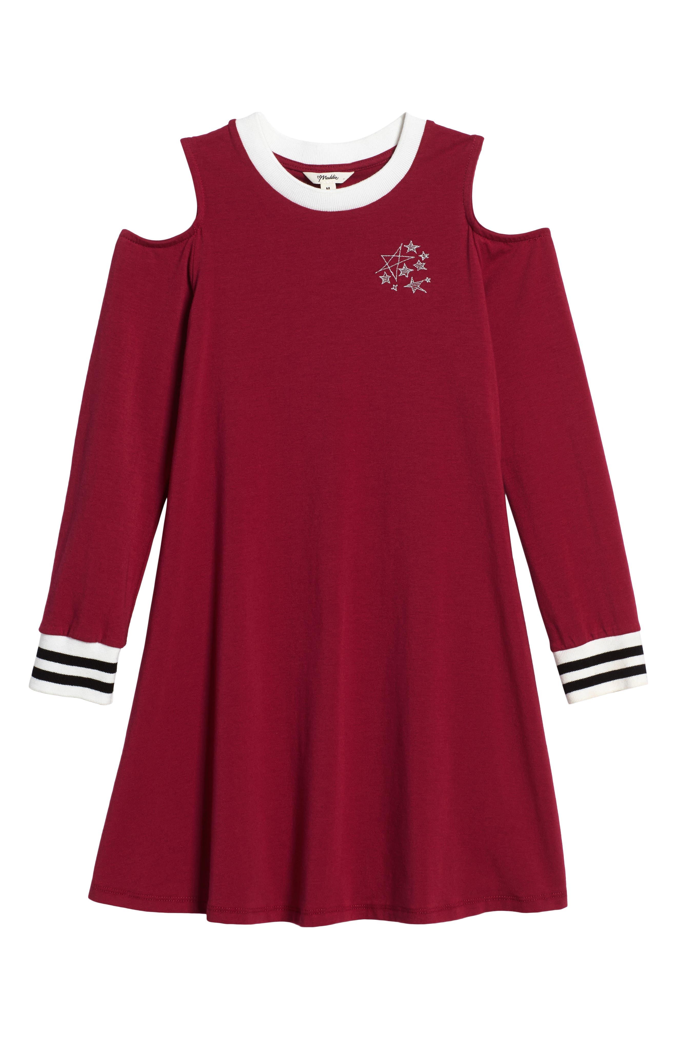 Cold Shoulder Dress,                             Main thumbnail 2, color,