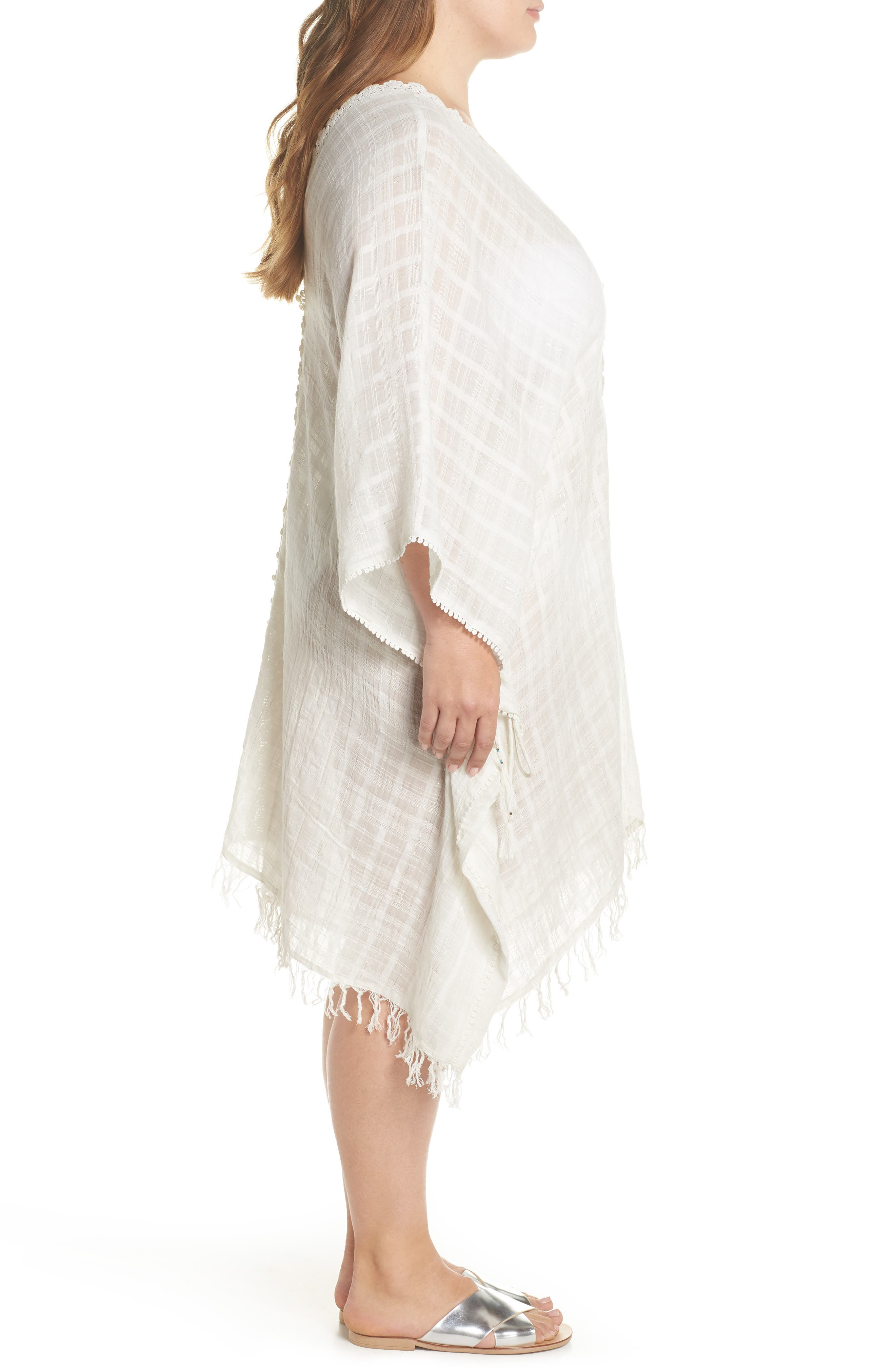 Serendipity Cover-Up Tunic,                             Alternate thumbnail 3, color,                             100