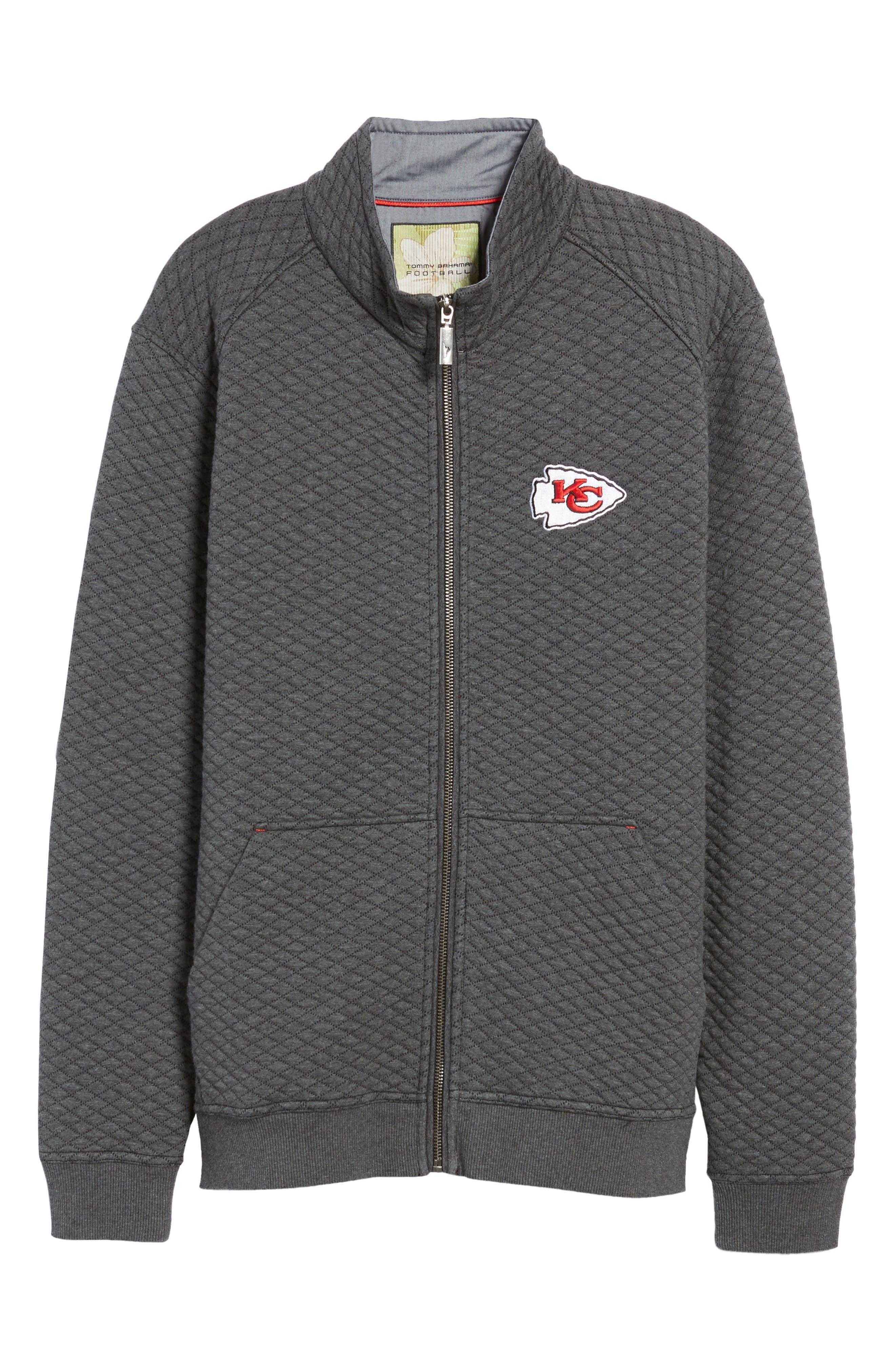 NFL Quiltessential Full Zip Sweatshirt,                             Alternate thumbnail 165, color,