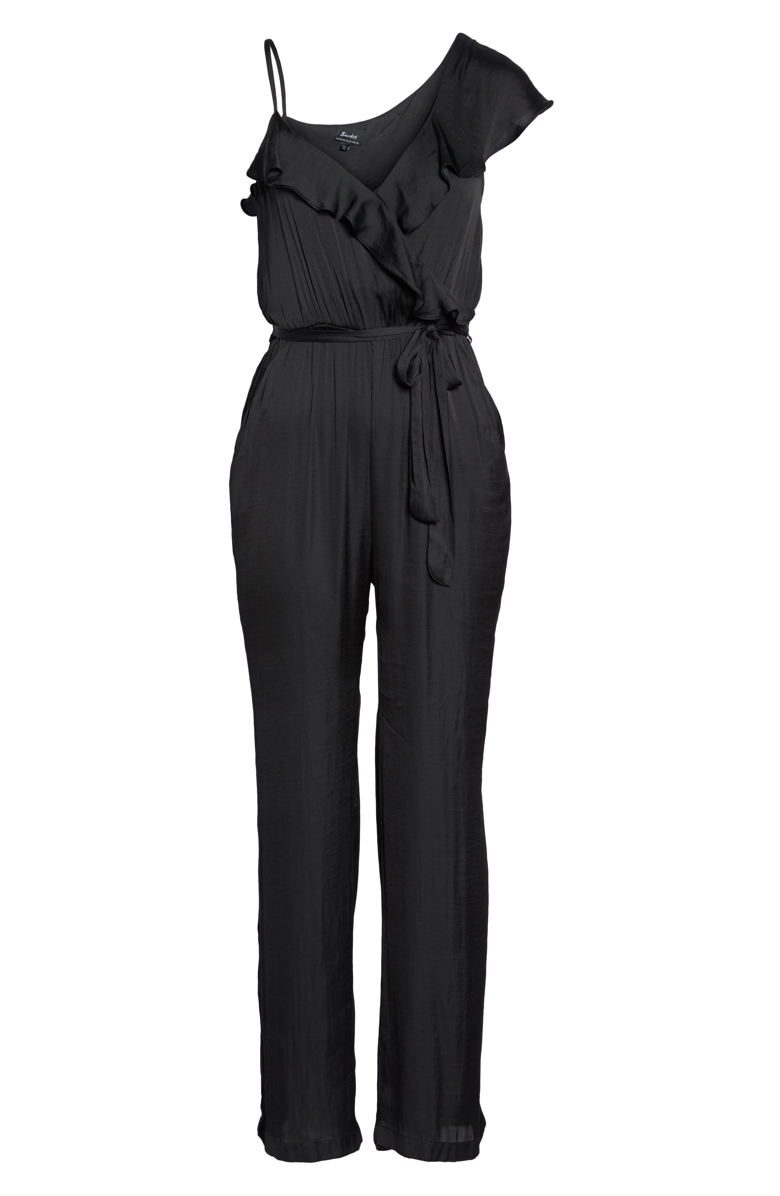Milly Jumpsuit,                             Alternate thumbnail 6, color,                             001
