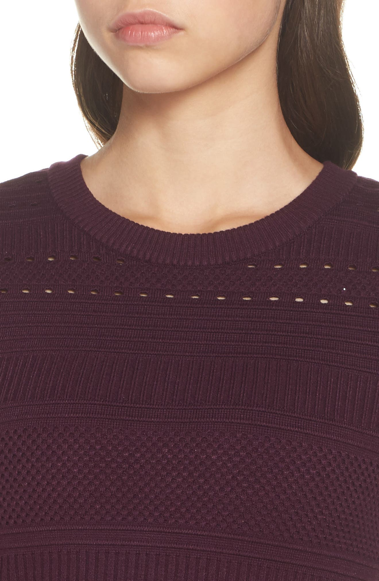 Fit & Flare Sweater Dress,                             Alternate thumbnail 16, color,