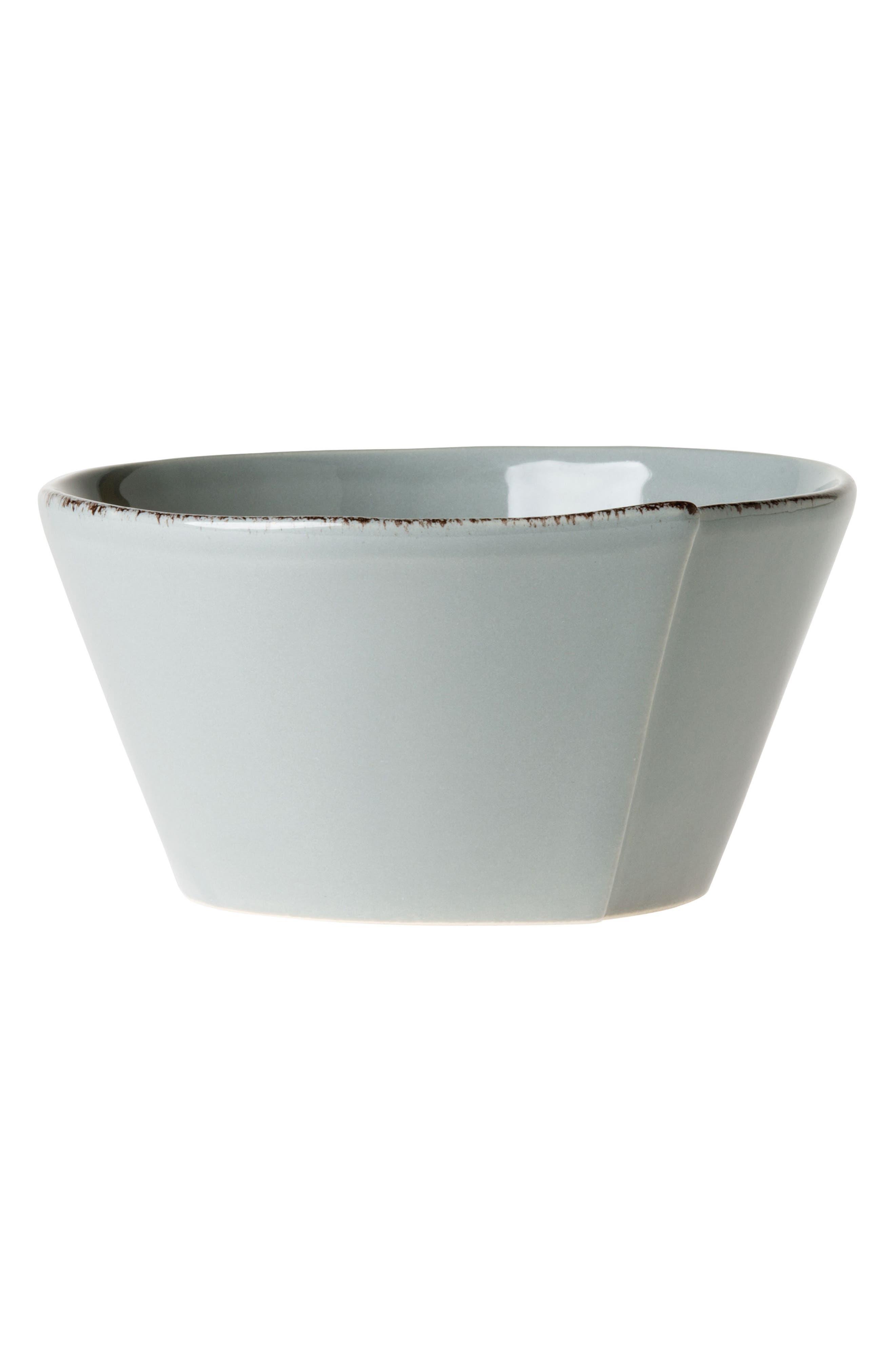 Lastra Cereal Bowl,                             Main thumbnail 1, color,                             GRAY