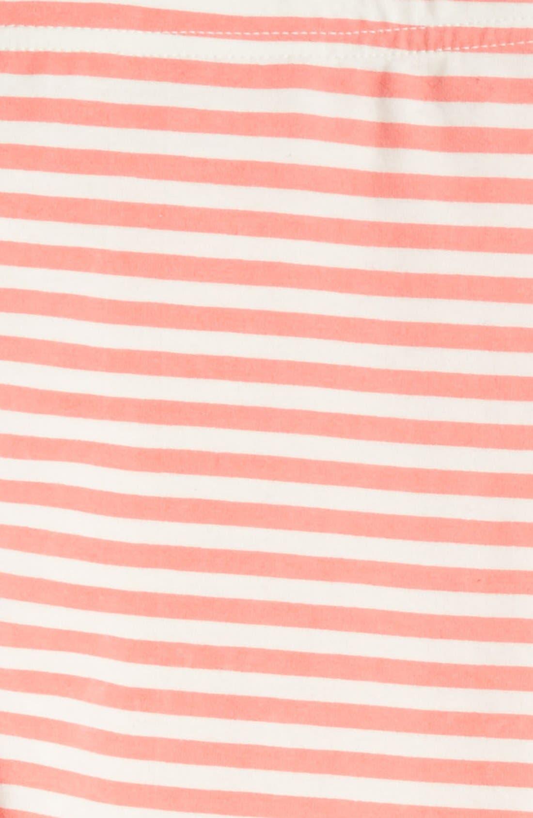 'Core' Striped Leggings,                             Alternate thumbnail 27, color,