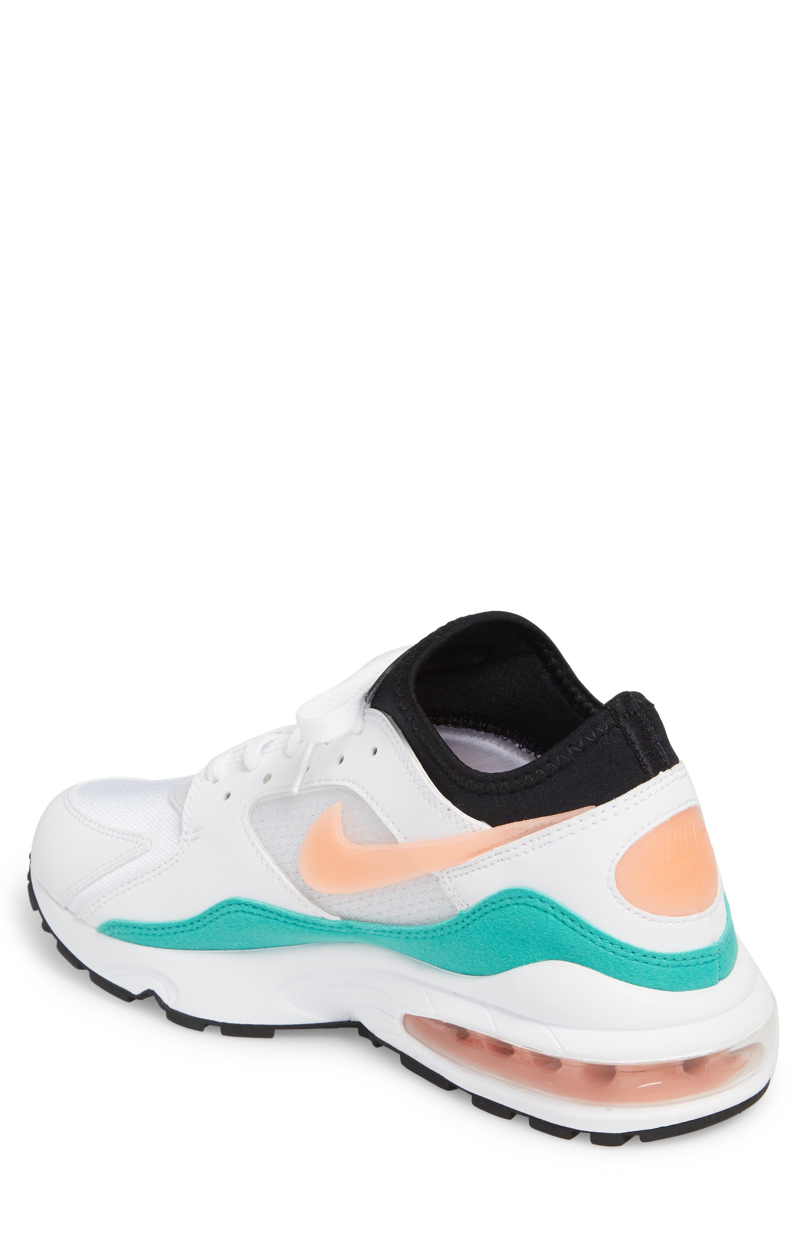 Air Max 93 Sneaker,                             Alternate thumbnail 2, color,                             WHITE/ CRIMSON BLISS