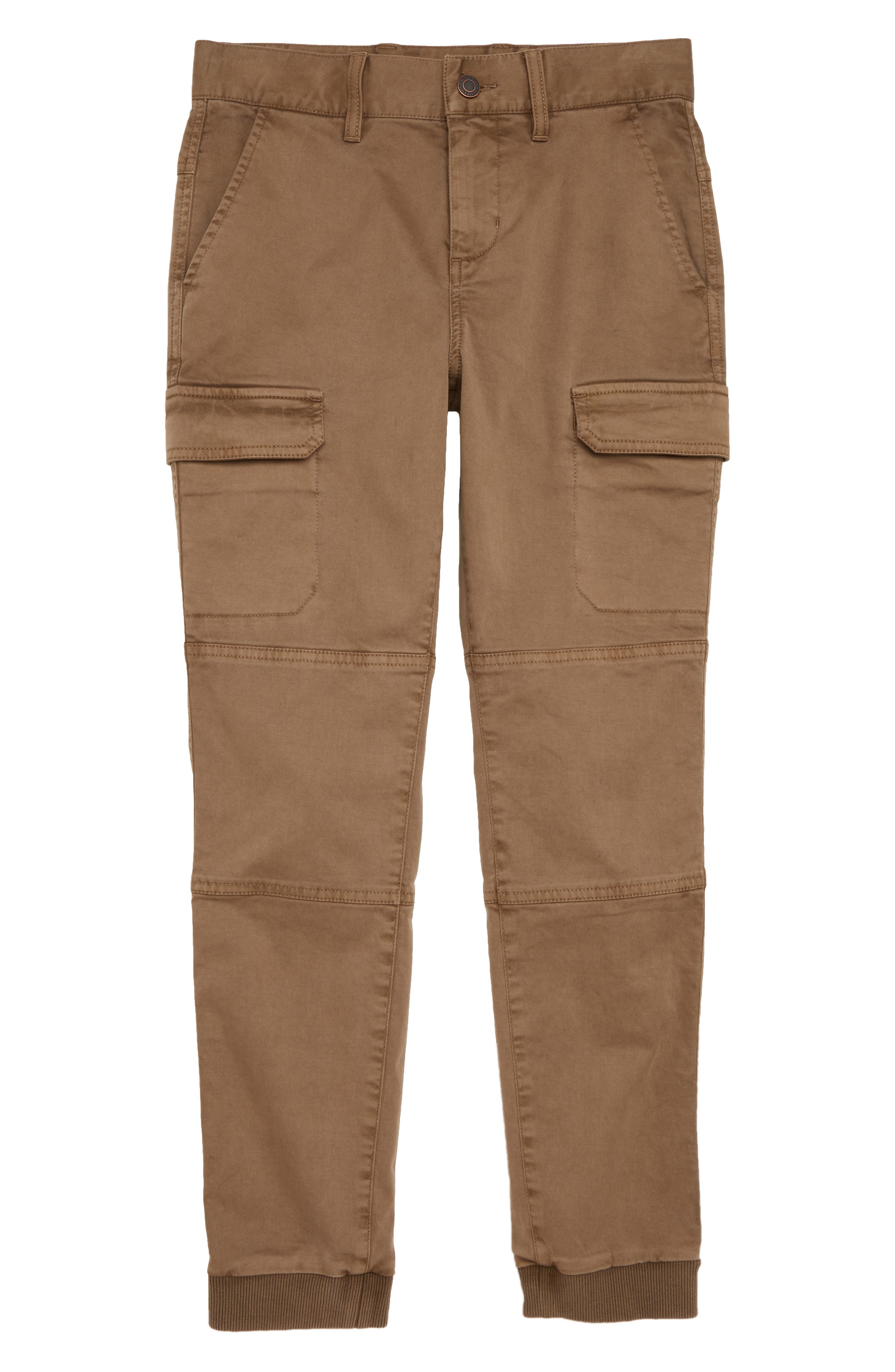 Cargo Jogger Pants,                             Main thumbnail 1, color,                             BROWN CUB