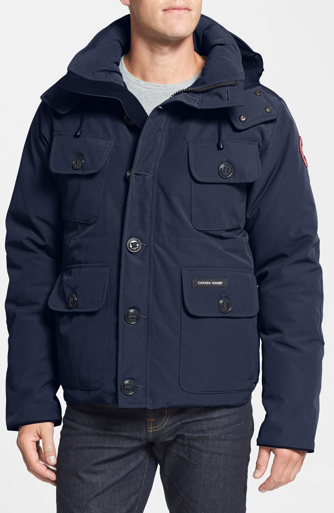 'Selkirk' Slim Fit Water Resistant Down Parka with Detachable Hood,                             Main thumbnail 5, color,