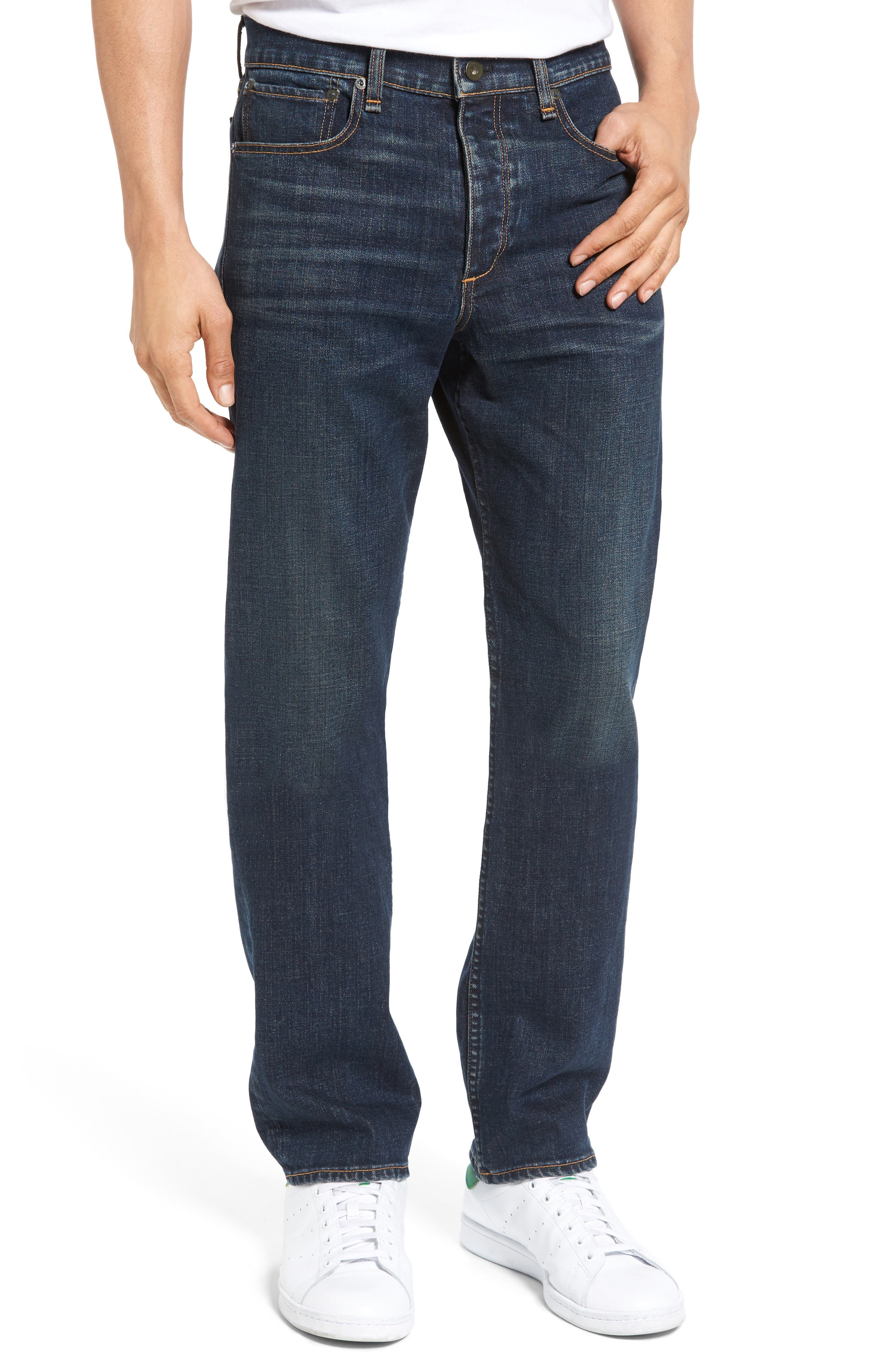 Fit 3 Slim Straight Leg Jeans,                             Main thumbnail 1, color,                             404