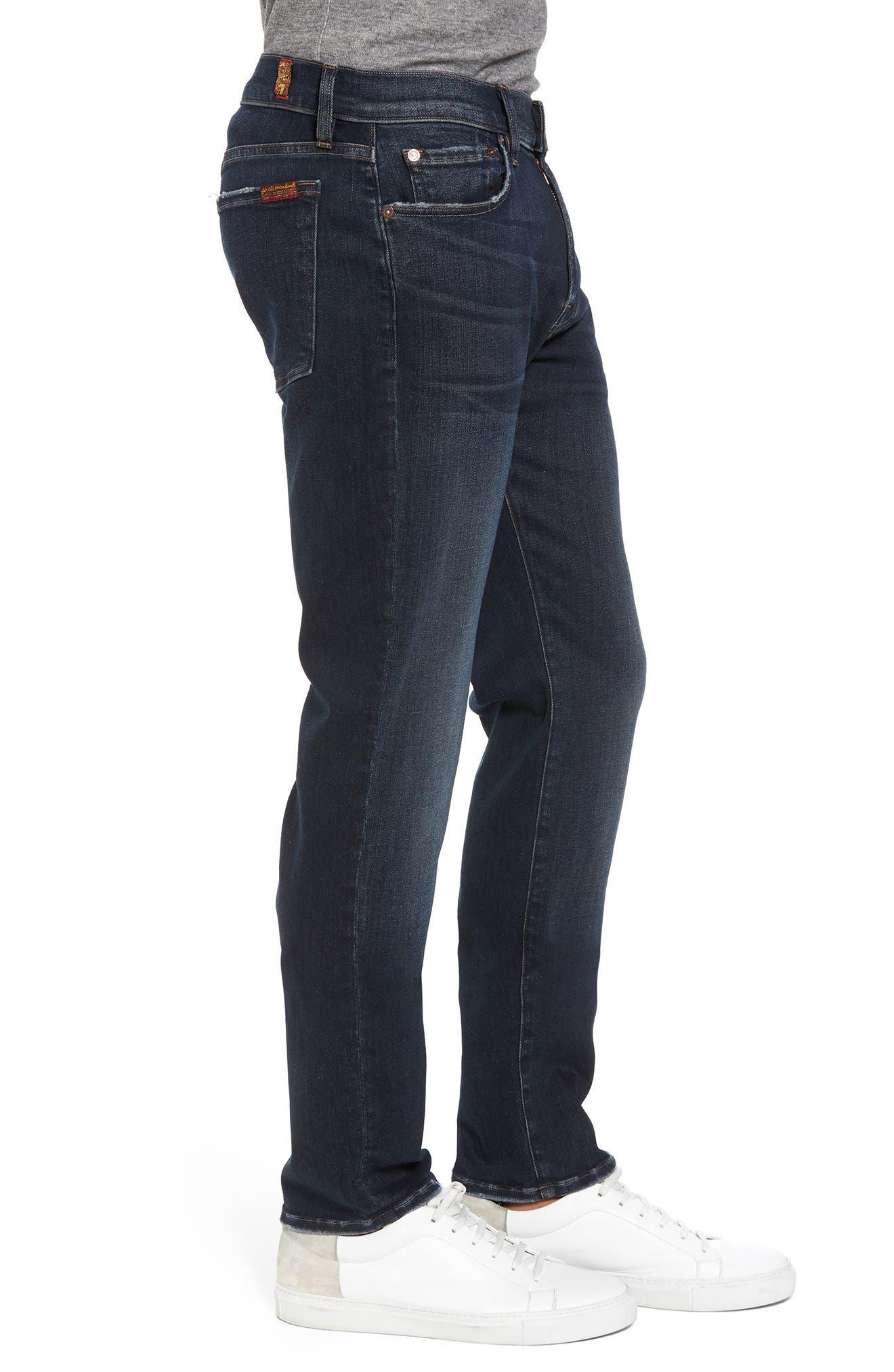 Adrien Slim Fit Jeans,                             Alternate thumbnail 3, color,