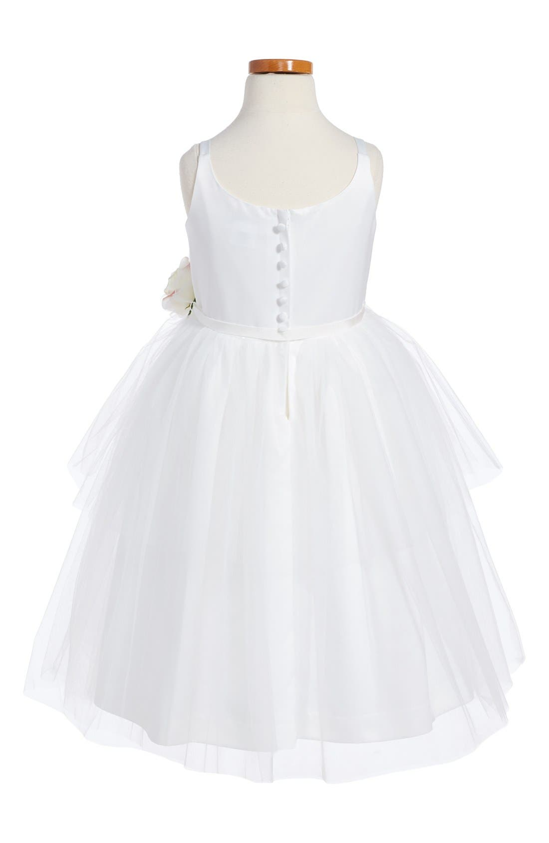 Tulle Ballerina Dress,                             Alternate thumbnail 5, color,                             IVORY
