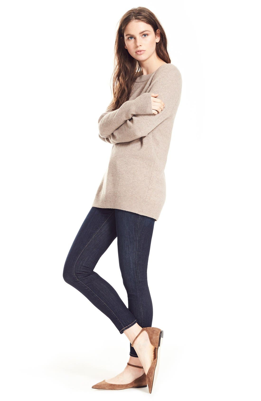 Le Skinny de Jeanne Jeans,                             Alternate thumbnail 10, color,                             QUEENSWAY