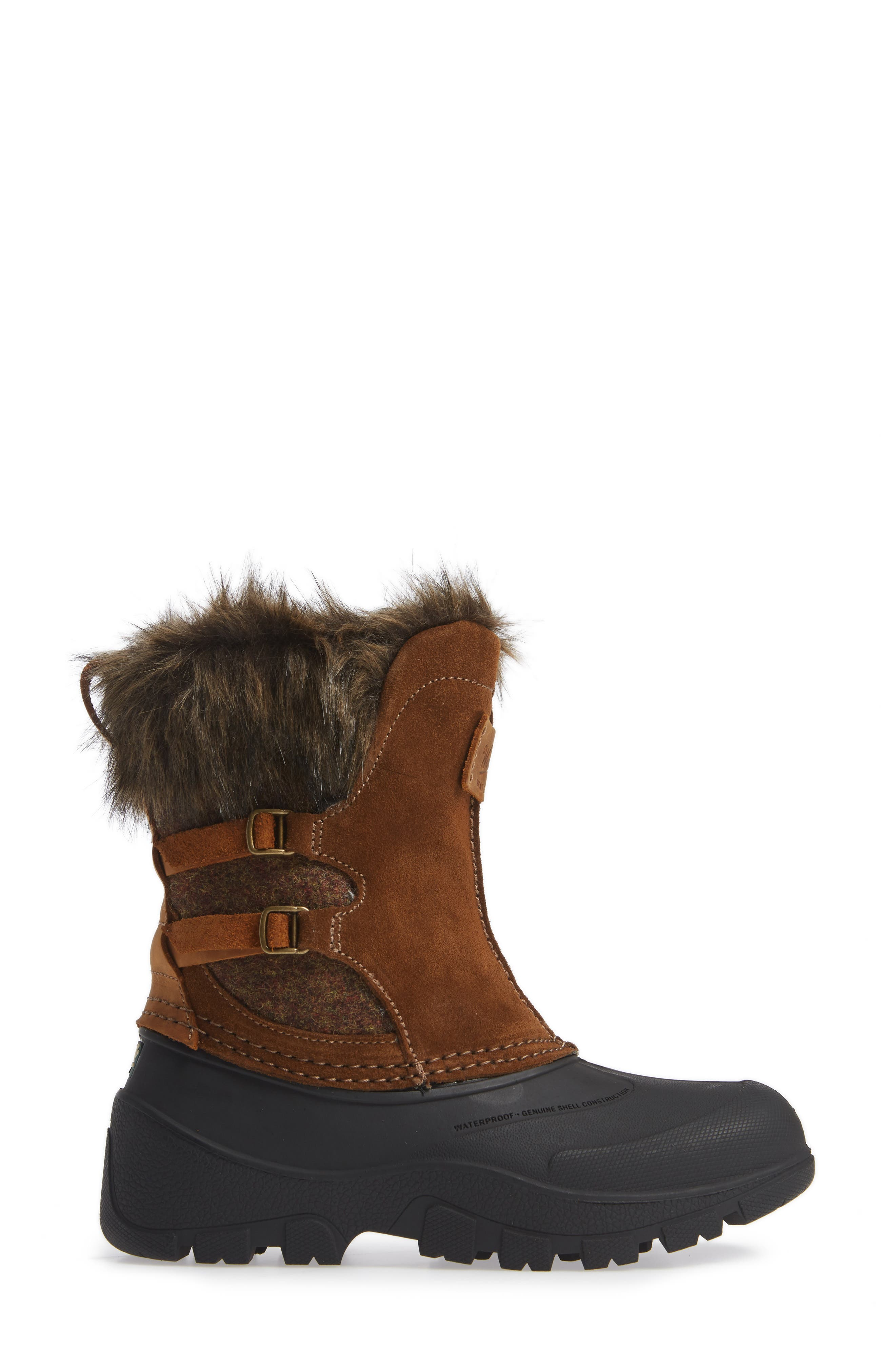 Icecat II Fully Woolly Waterproof Insulated Winter Boot,                             Alternate thumbnail 3, color,                             DACHSHUND WOOL