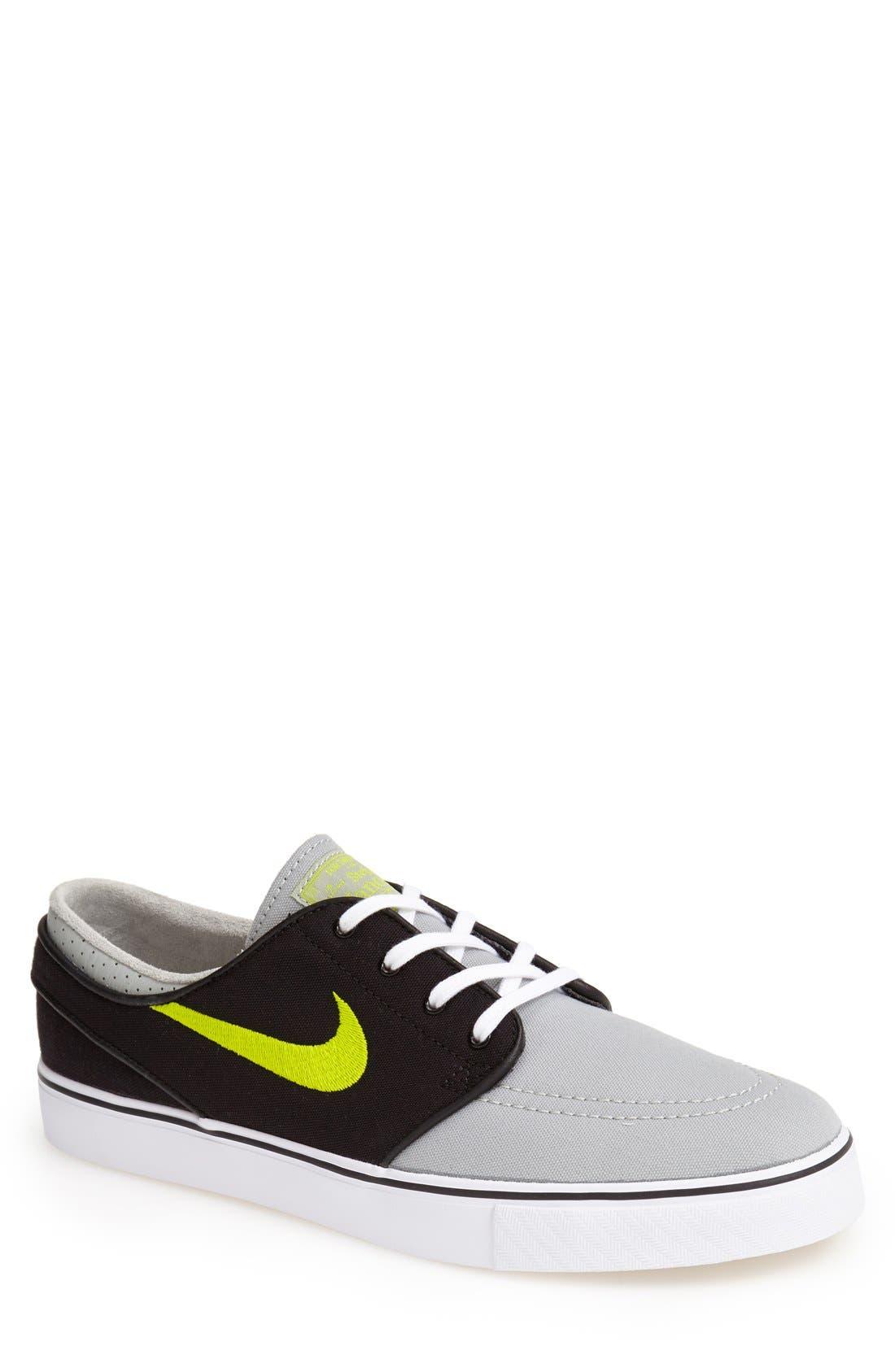 Zoom - Stefan Janoski SB Canvas Skate Shoe,                             Main thumbnail 15, color,
