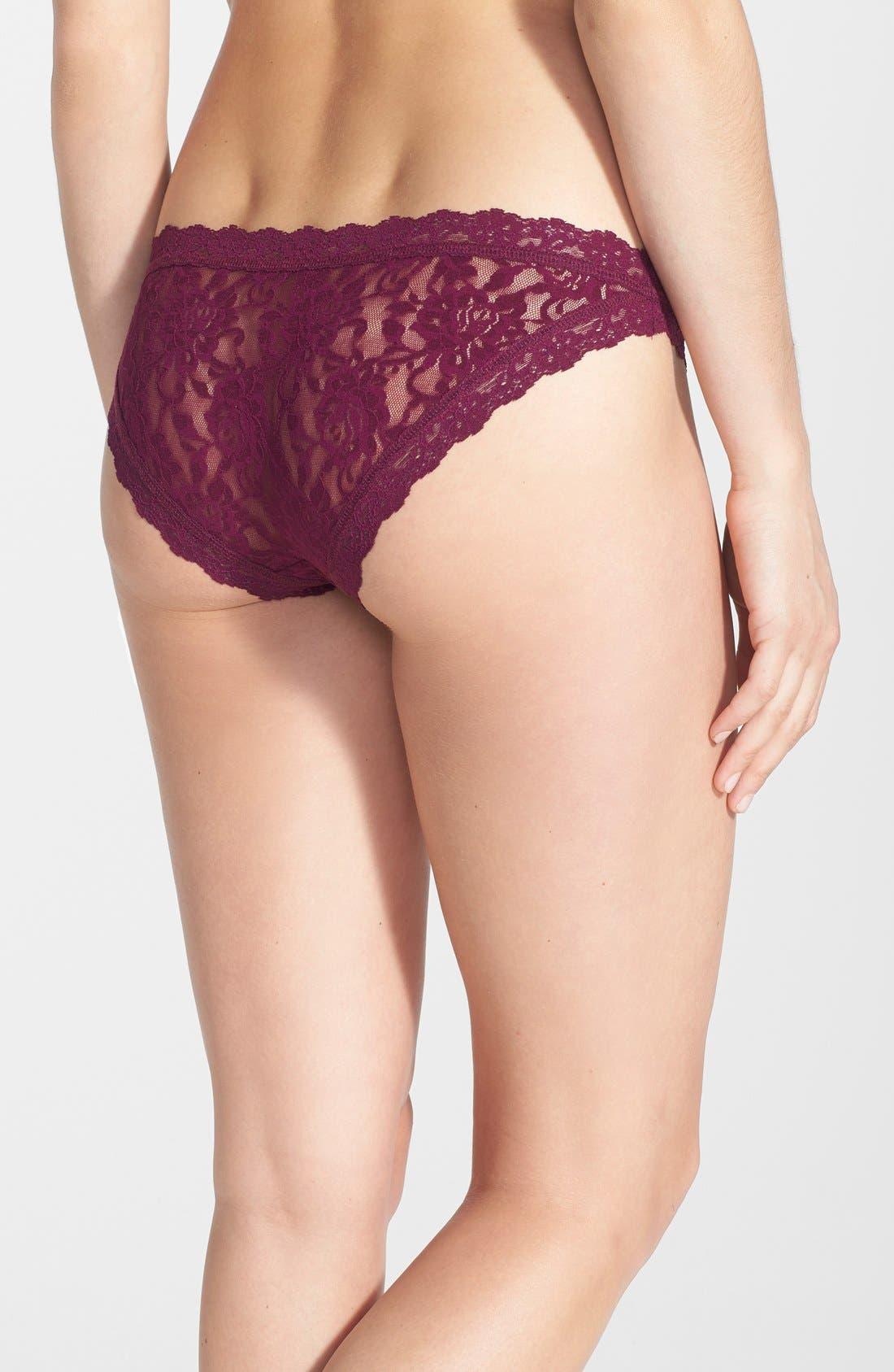 'Signature Lace' Brazilian Bikini,                             Alternate thumbnail 99, color,