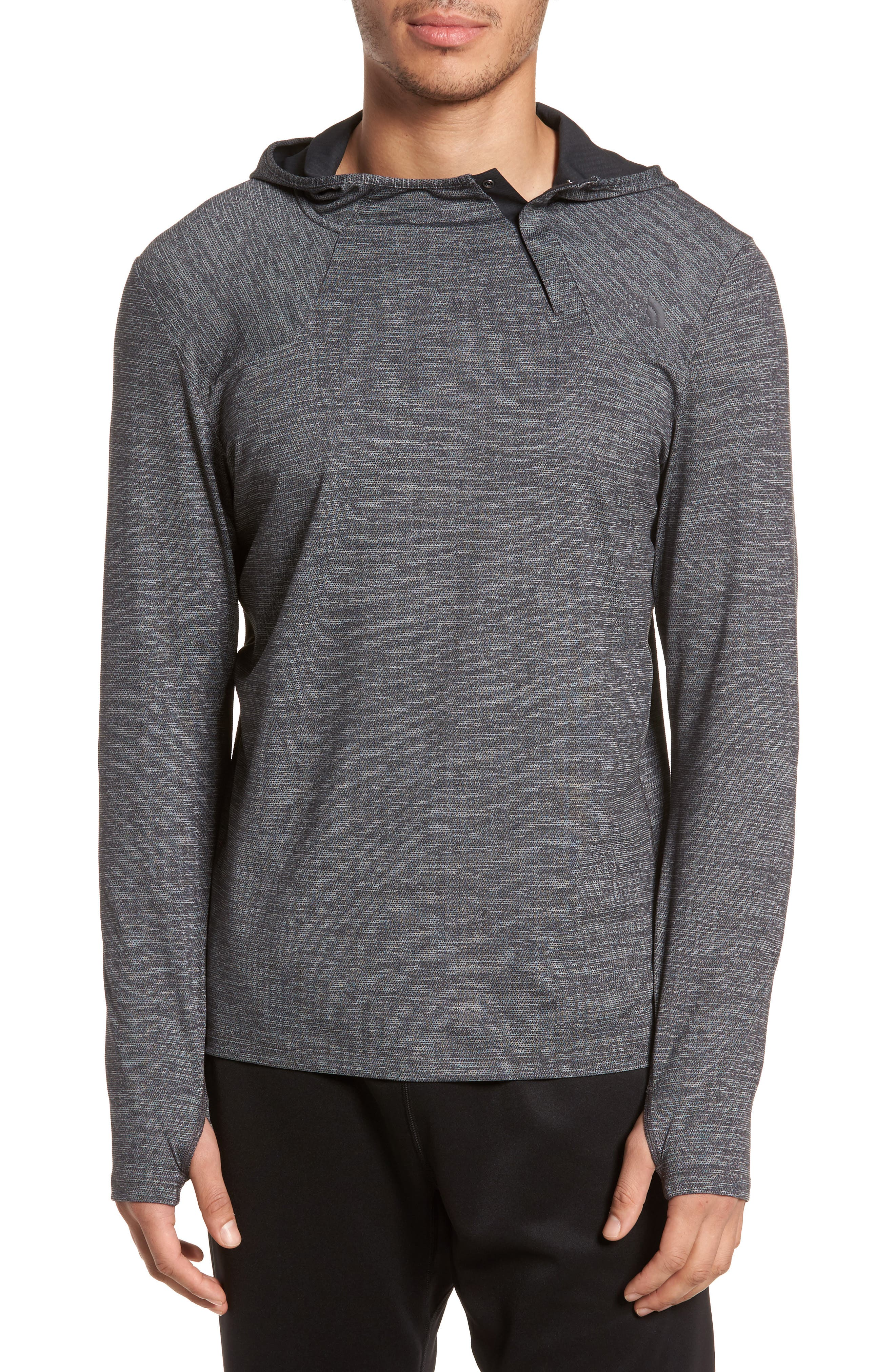 THE NORTH FACE Beyond The Wall Hoodie, Main, color, 001
