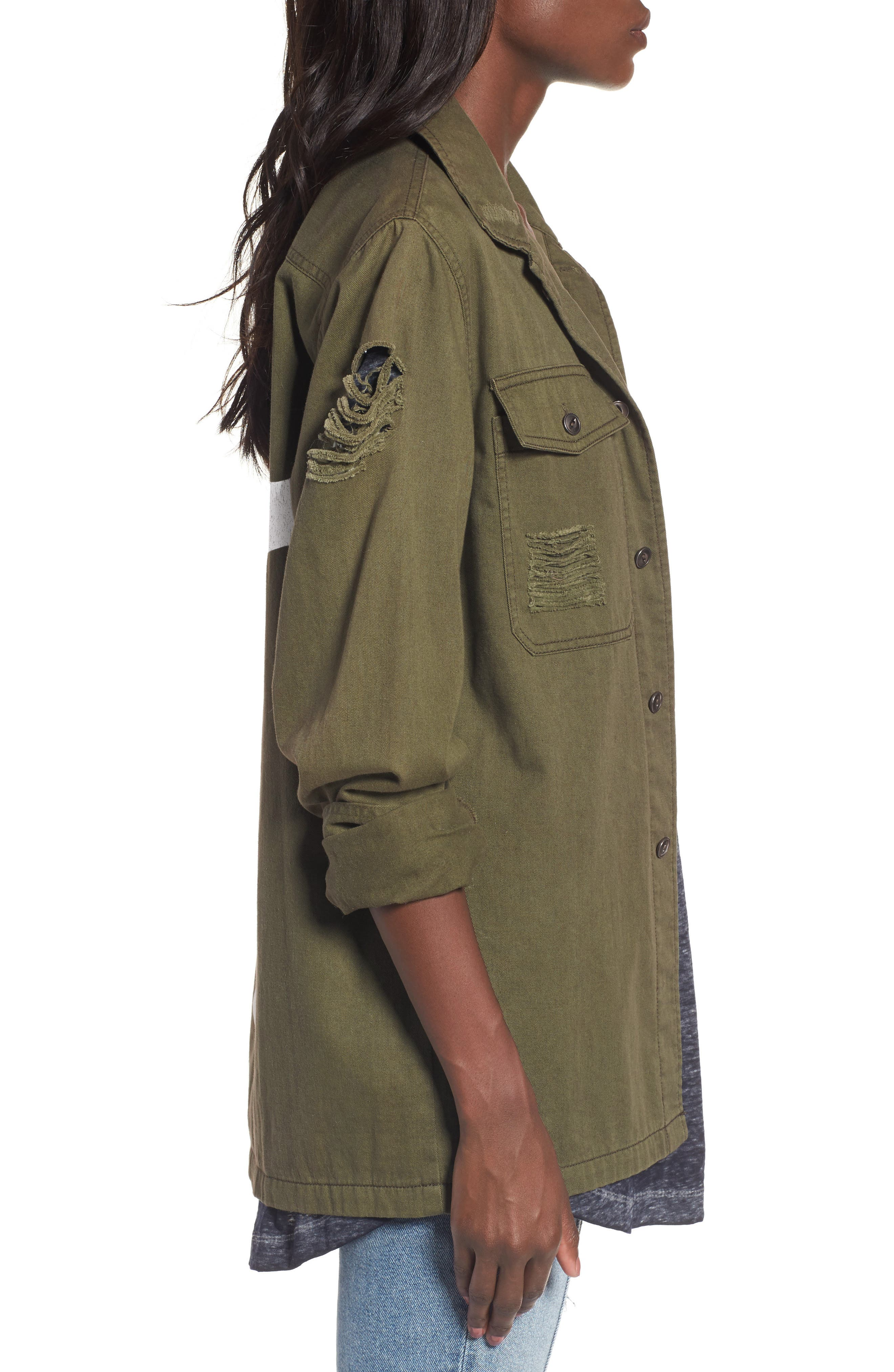 Army Jacket,                             Alternate thumbnail 3, color,                             300