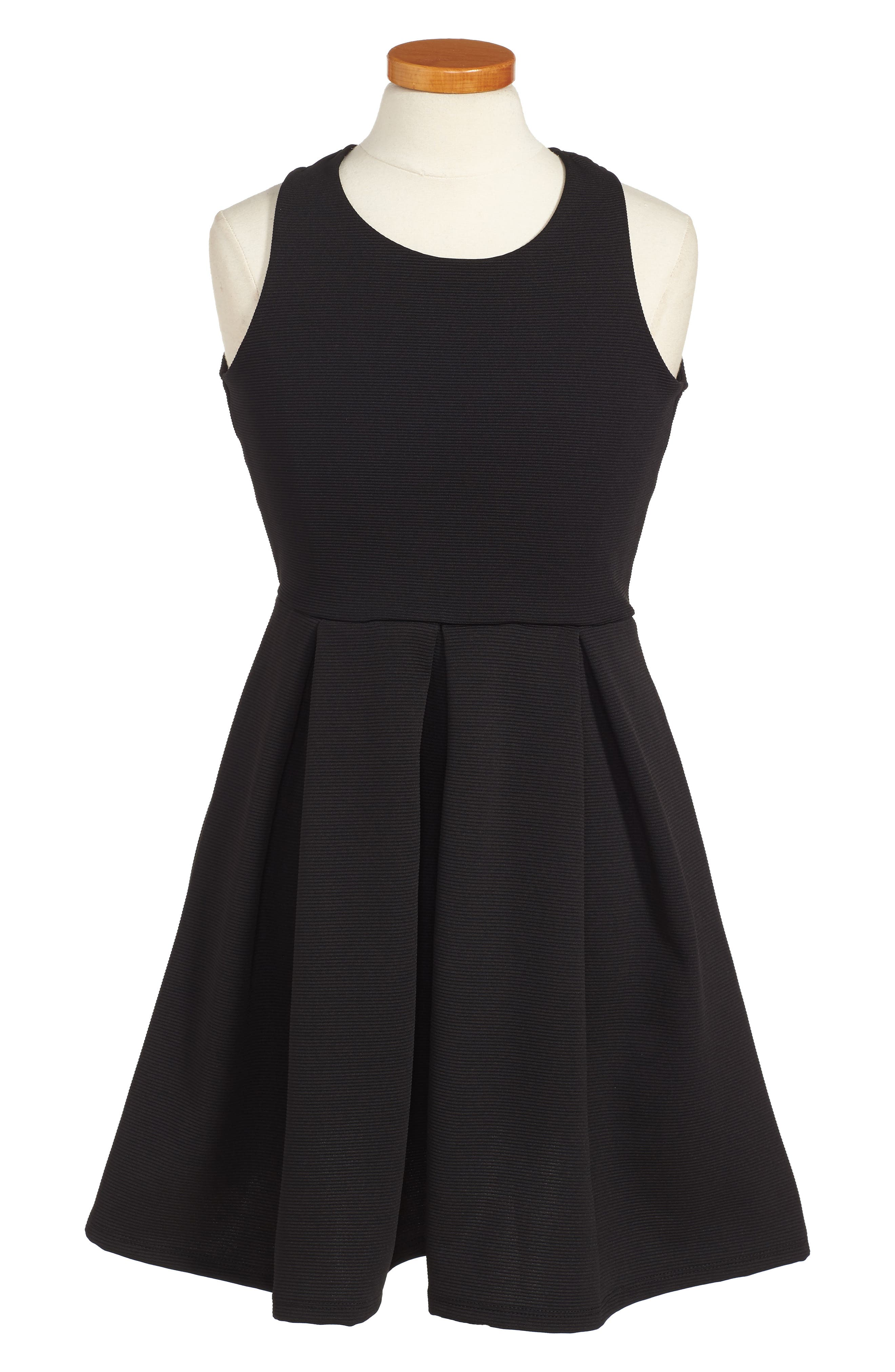 SOPRANO,                             Skater Dress,                             Alternate thumbnail 3, color,                             002