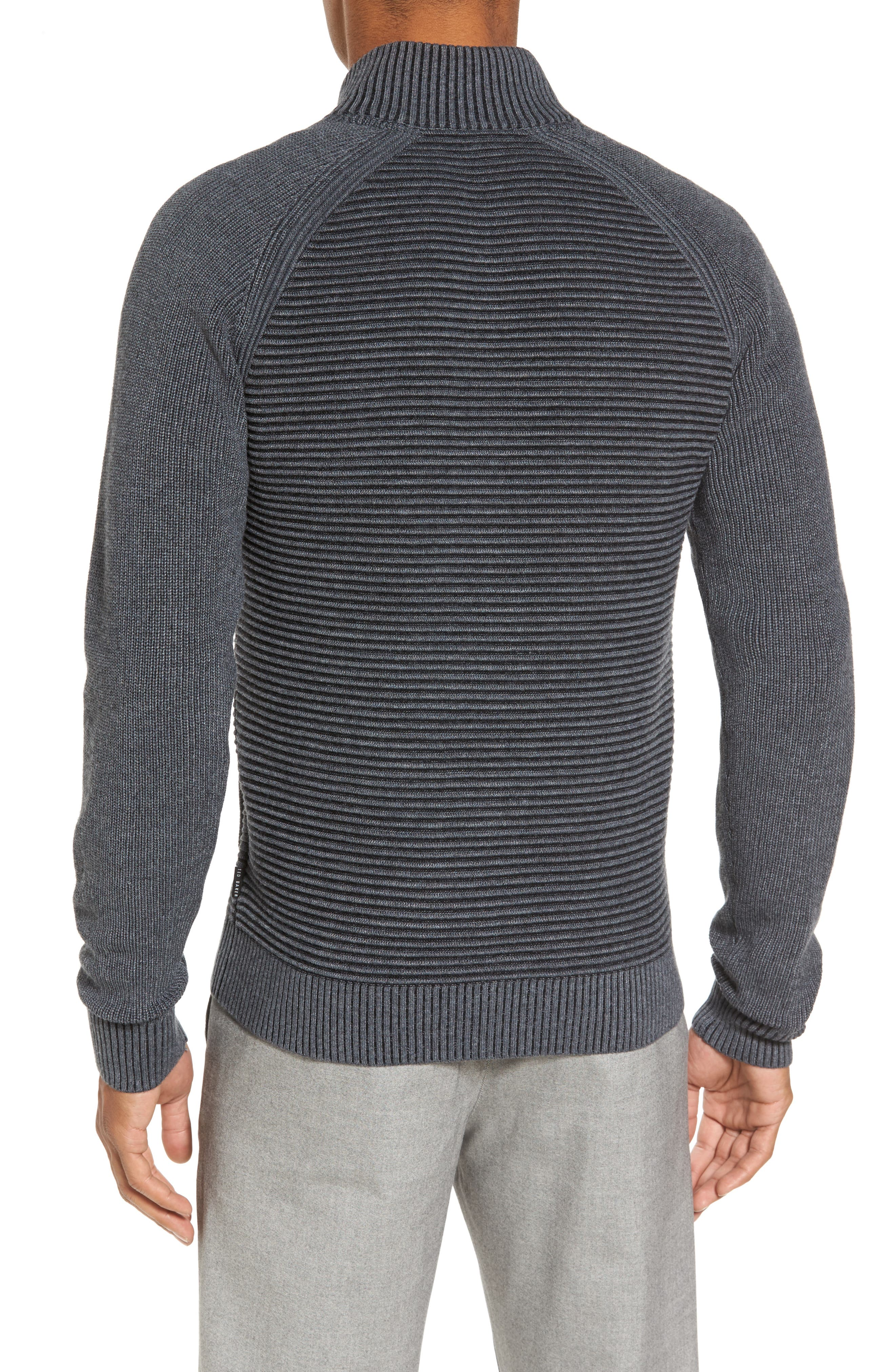 Modern Slim Fit Raglan Sweater,                             Alternate thumbnail 2, color,                             030