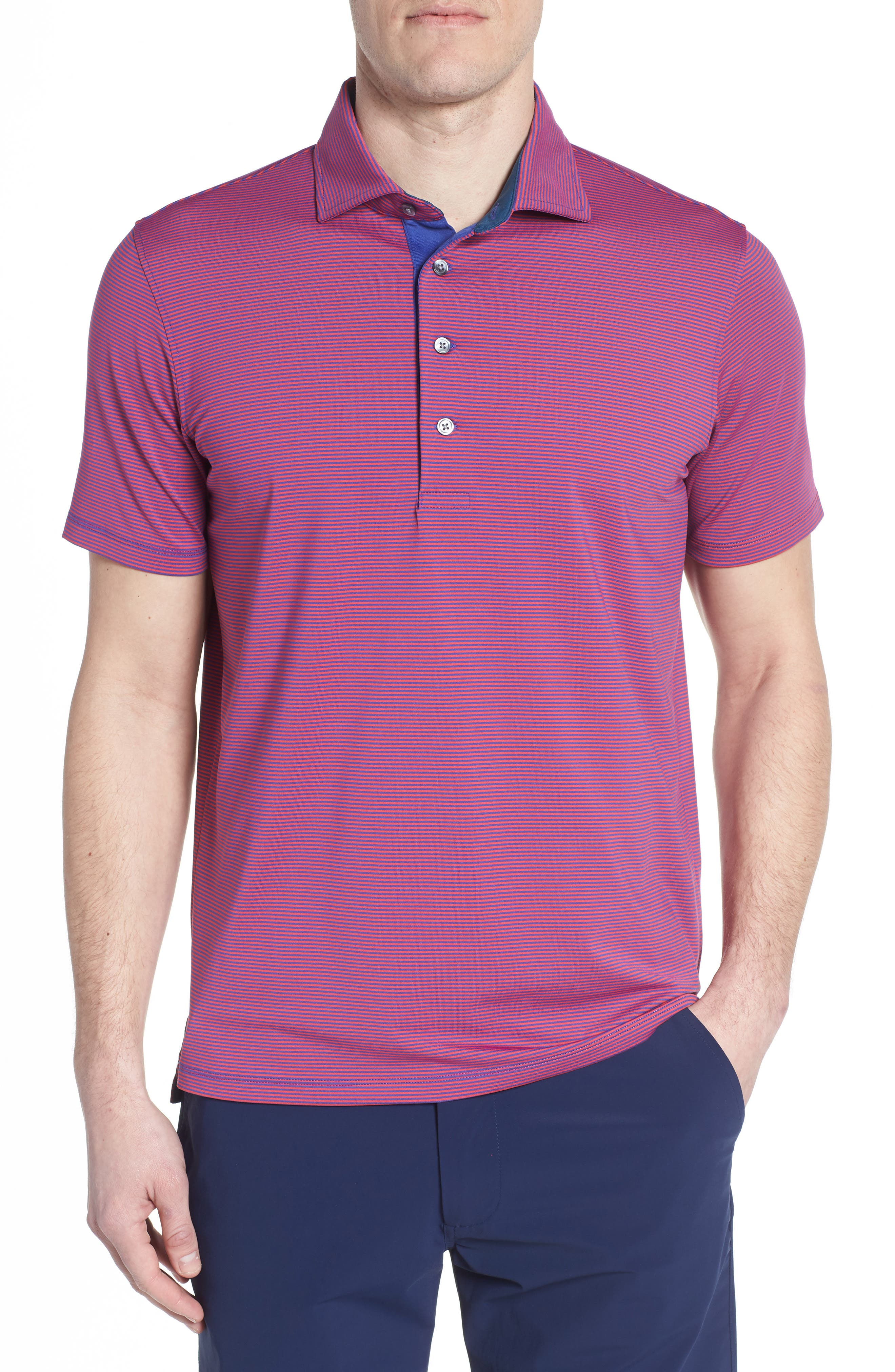 Saranac Jersey Polo,                         Main,                         color, 650
