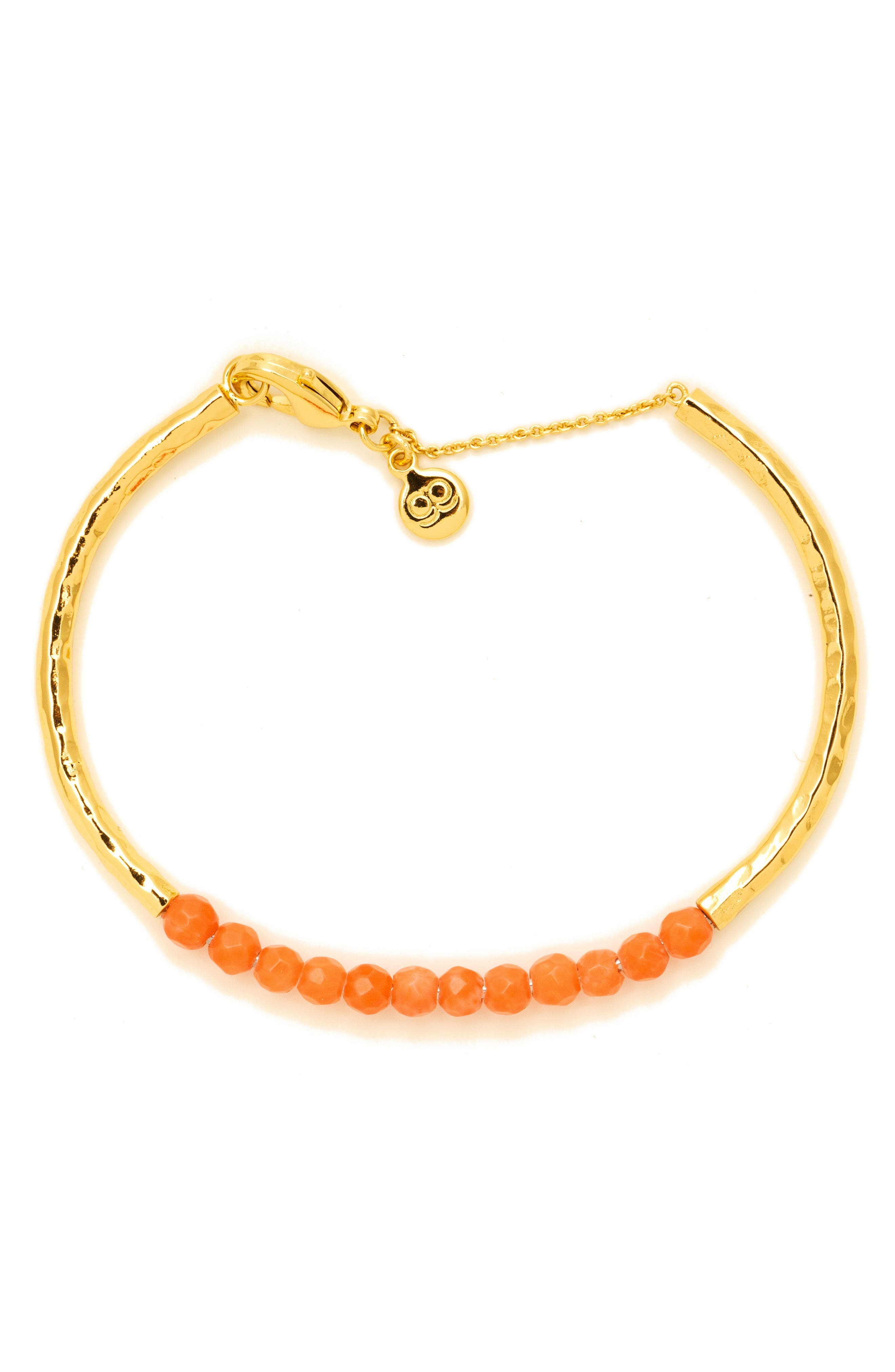 Power Stone Semiprecious Beaded Bracelet,                             Alternate thumbnail 16, color,