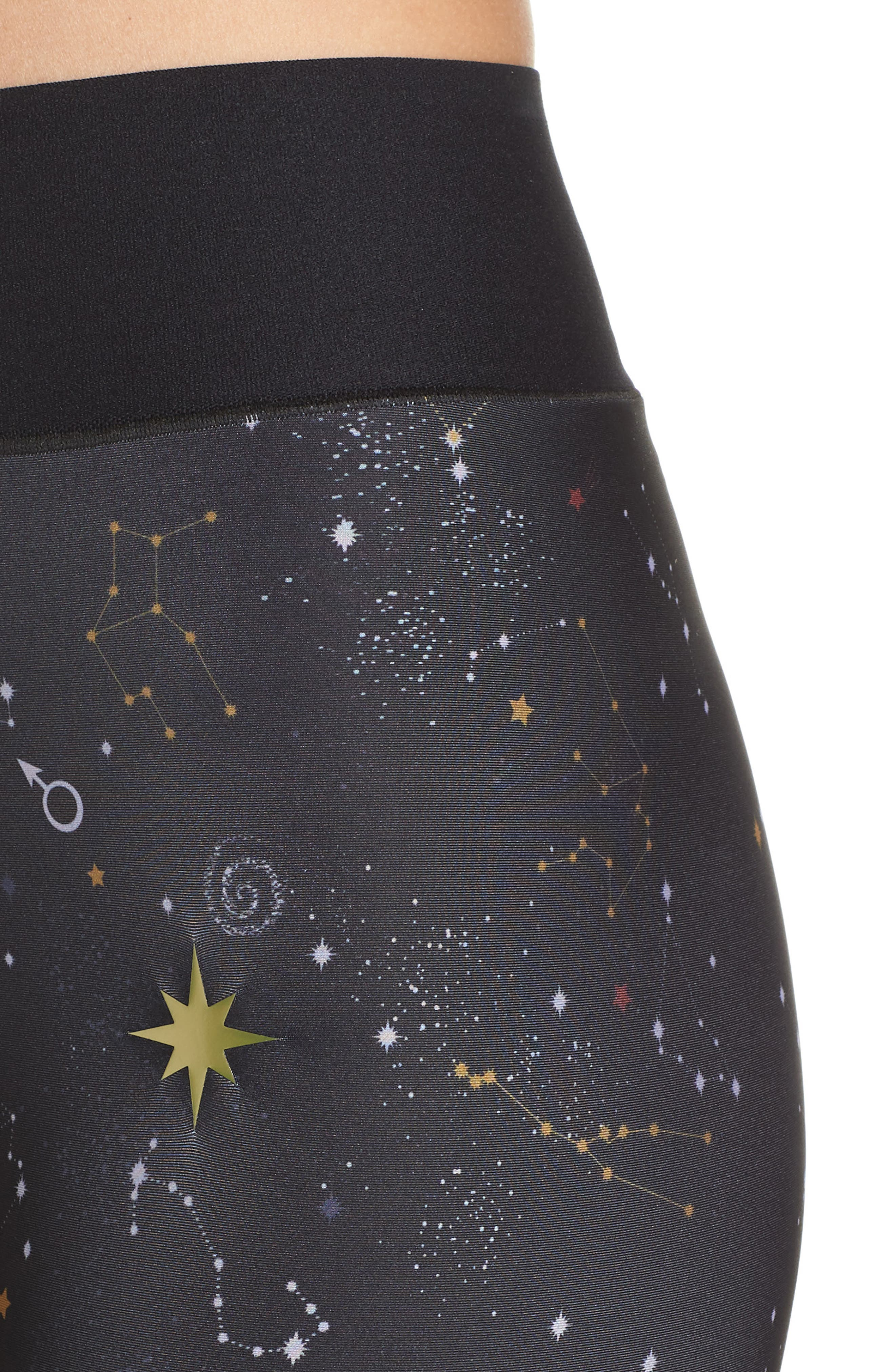 Ultra High Galaxy Leggings,                             Alternate thumbnail 4, color,                             001