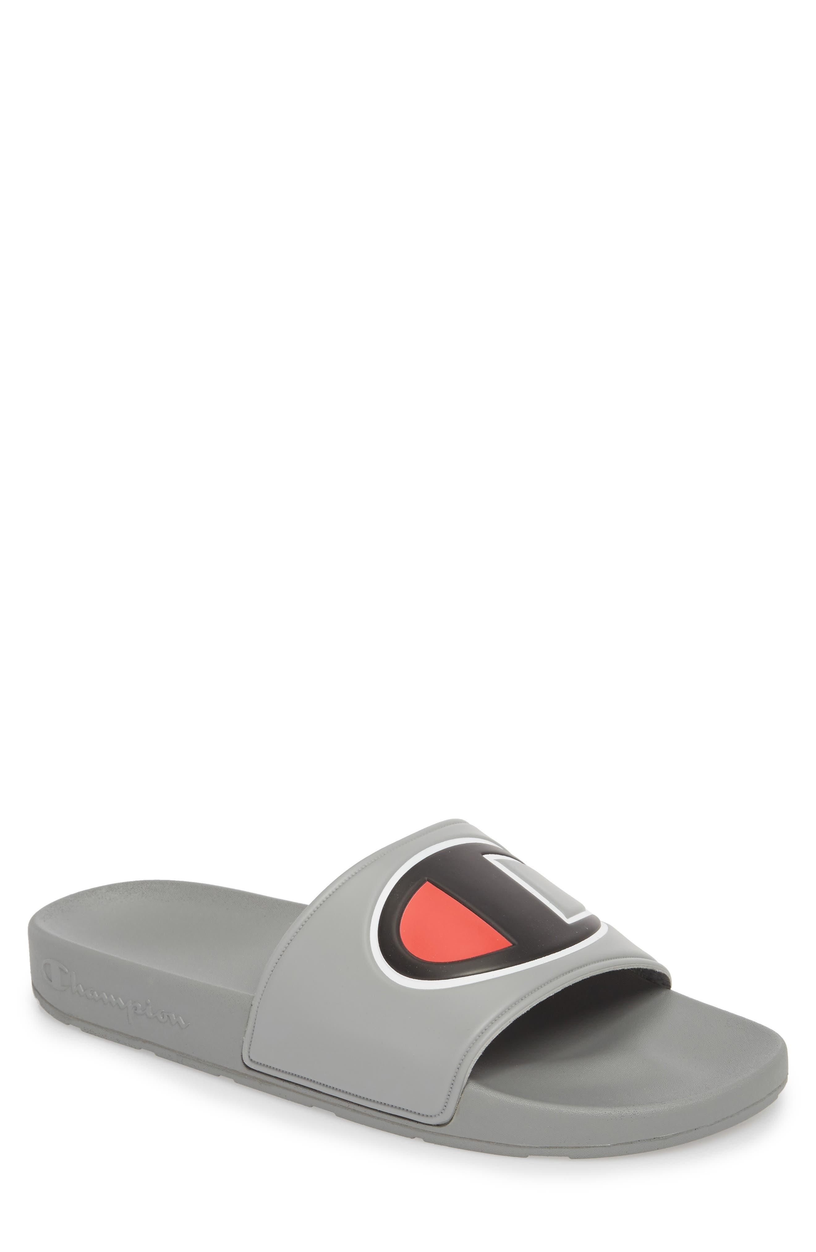 IPO Sports Slide Sandal,                         Main,                         color, GREY