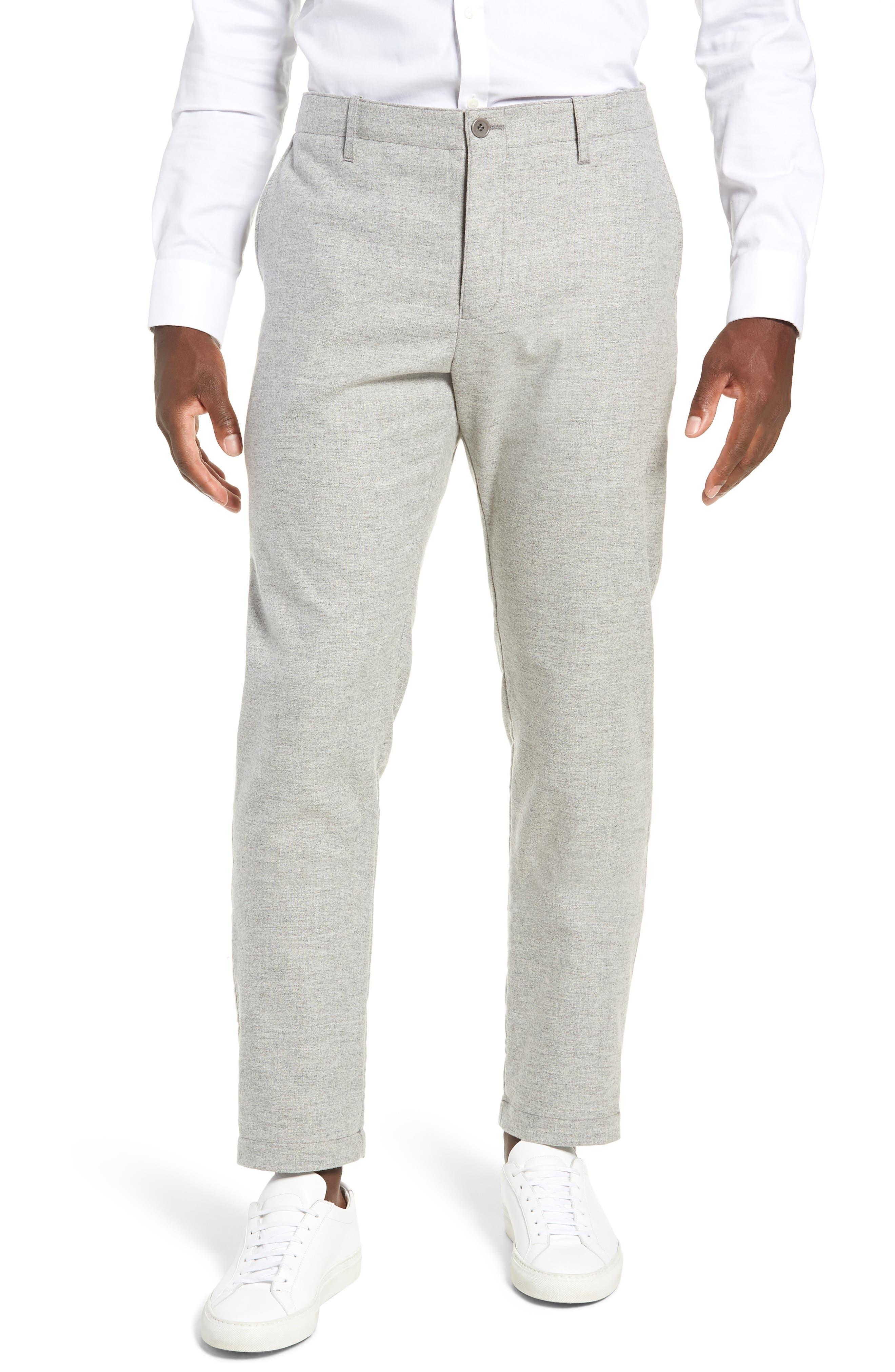 DJVU Slim Fit Trousers,                         Main,                         color, 027