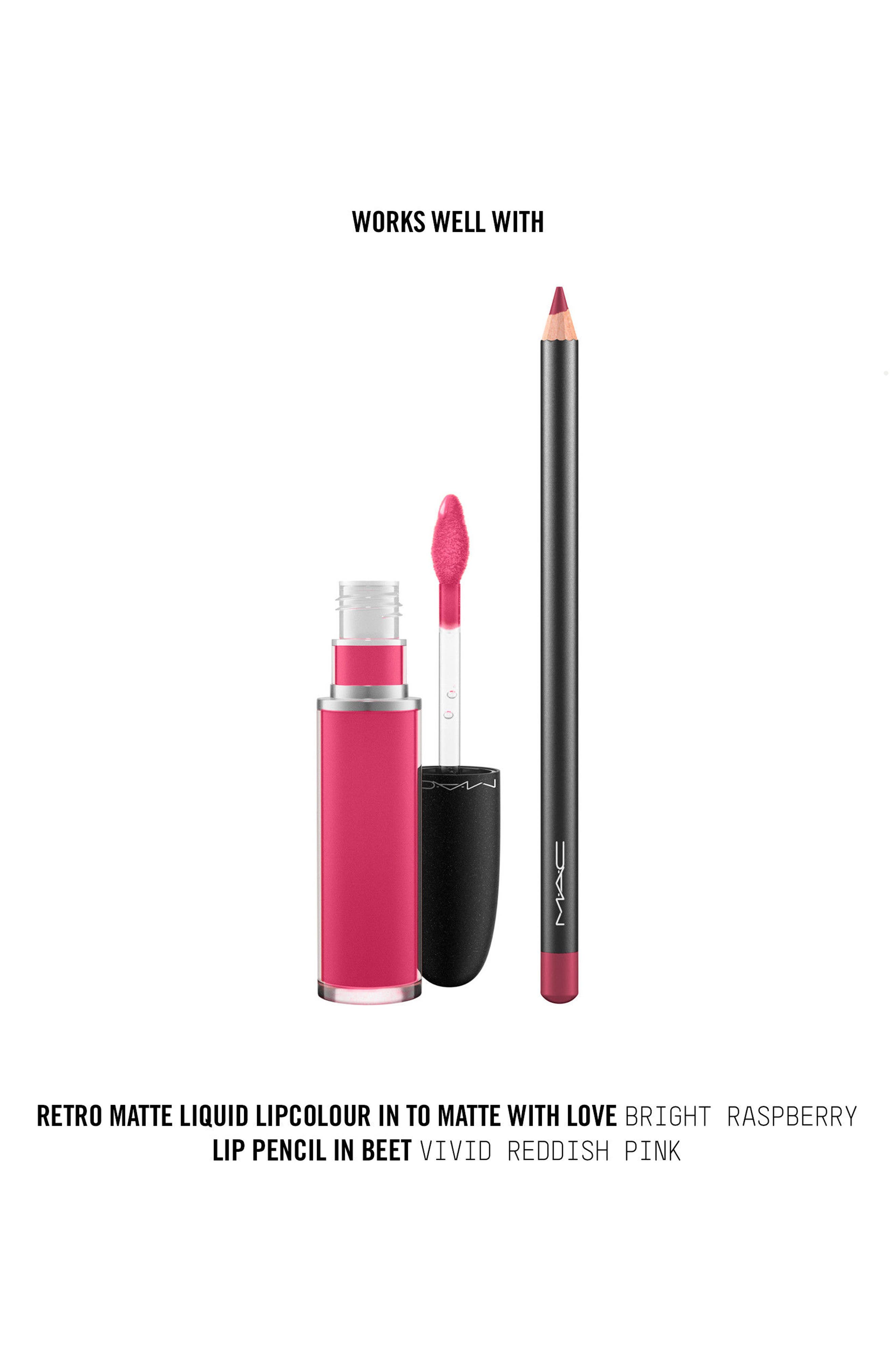 MAC Retro Matte Liquid Lipcolor,                             Alternate thumbnail 151, color,