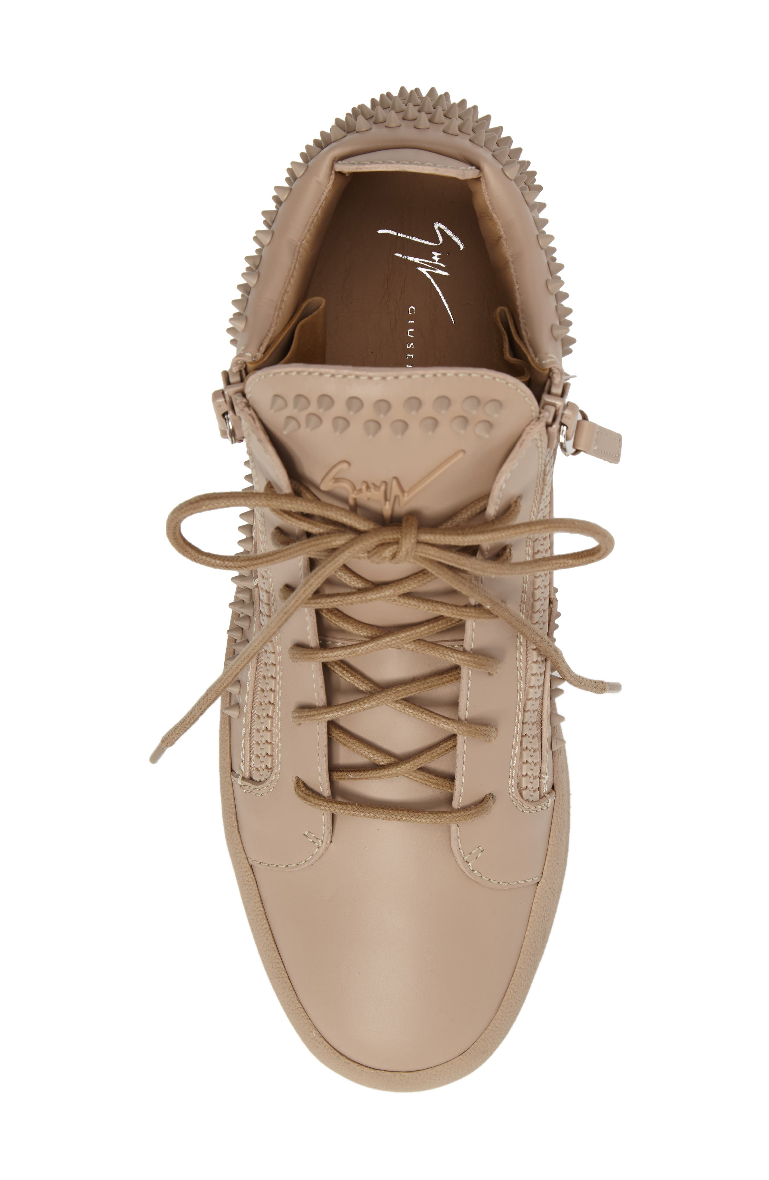 Studded Mid Top Sneaker,                             Alternate thumbnail 5, color,                             250