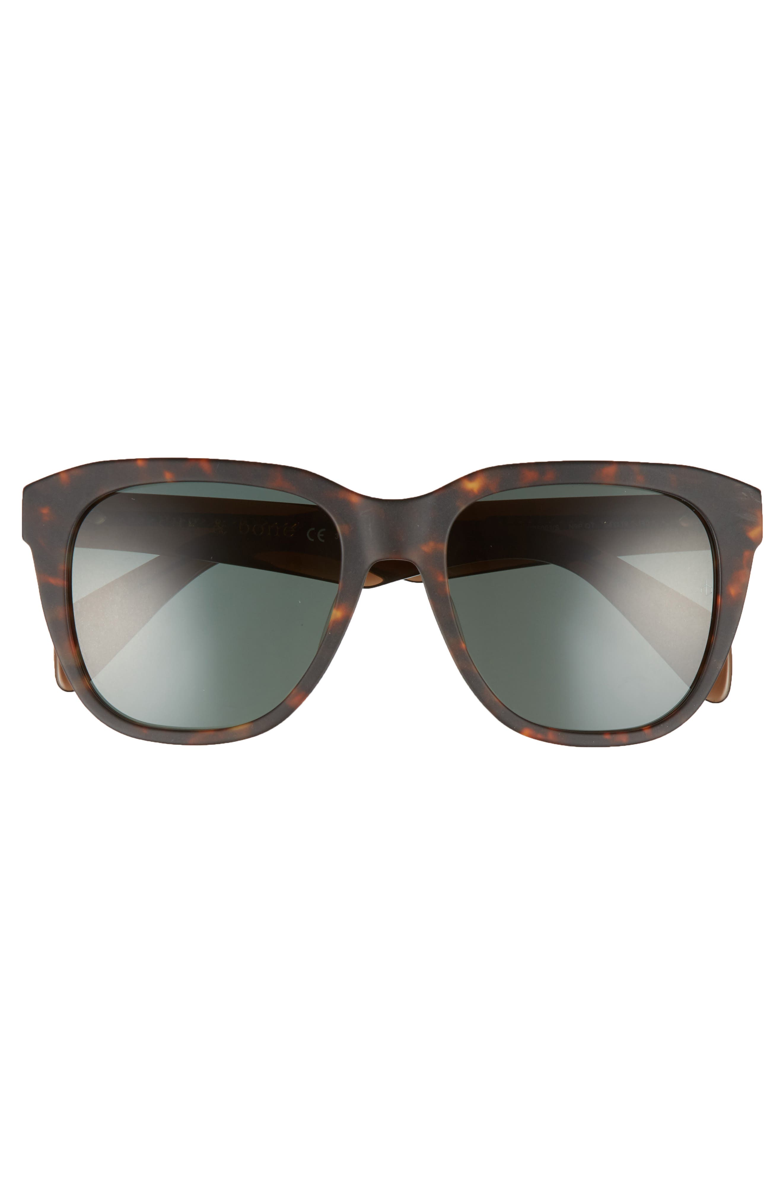 54mm Sunglasses,                             Alternate thumbnail 2, color,                             MATTE HAVANA